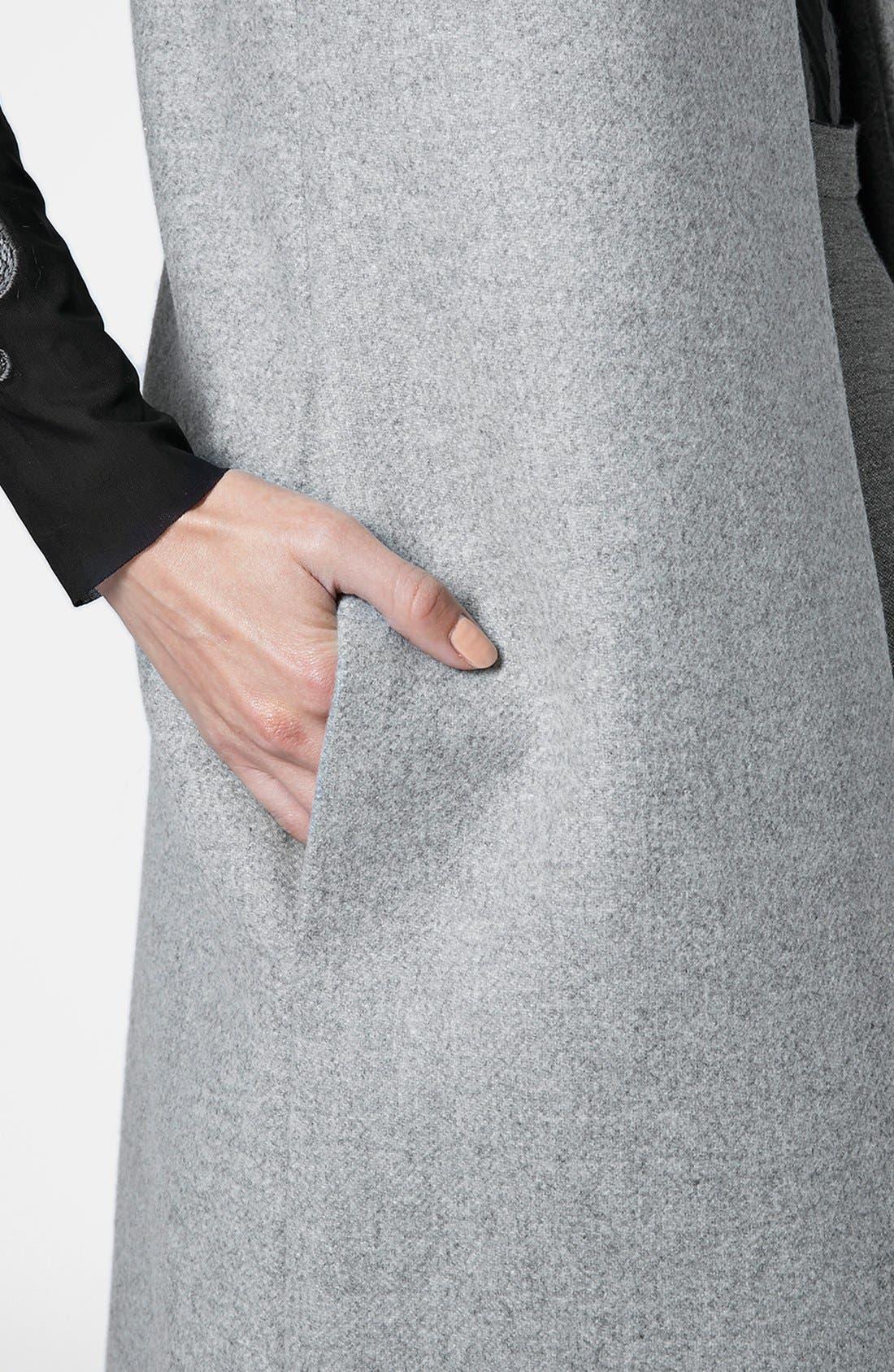 Alternate Image 4  - Topshop Unique Longline Gilet Vest