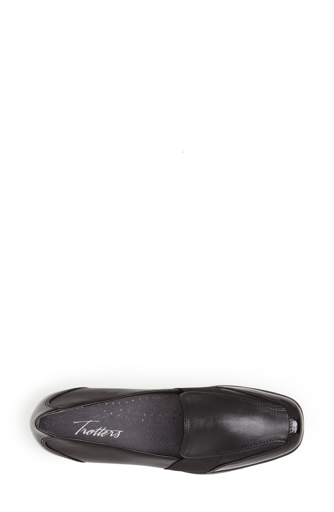 'Arianna' Loafer,                             Alternate thumbnail 3, color,                             Black