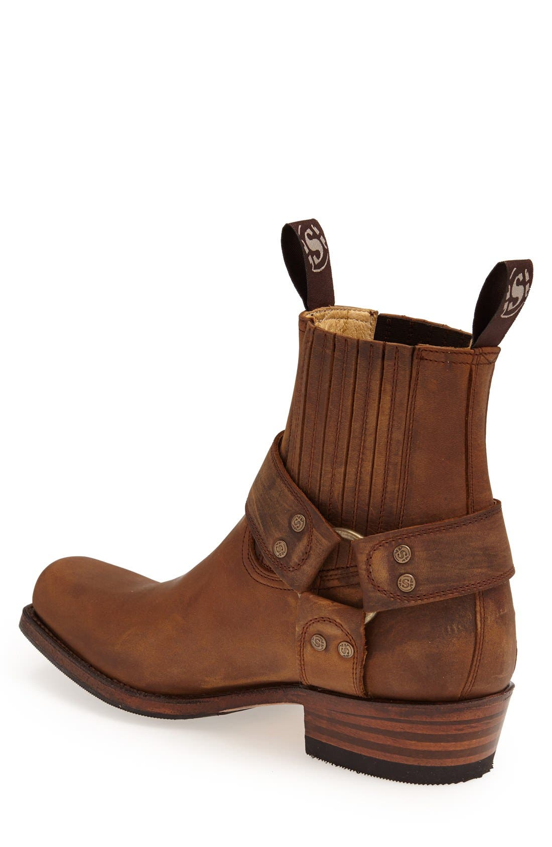 Harness Boot,                             Alternate thumbnail 2, color,                             Tan