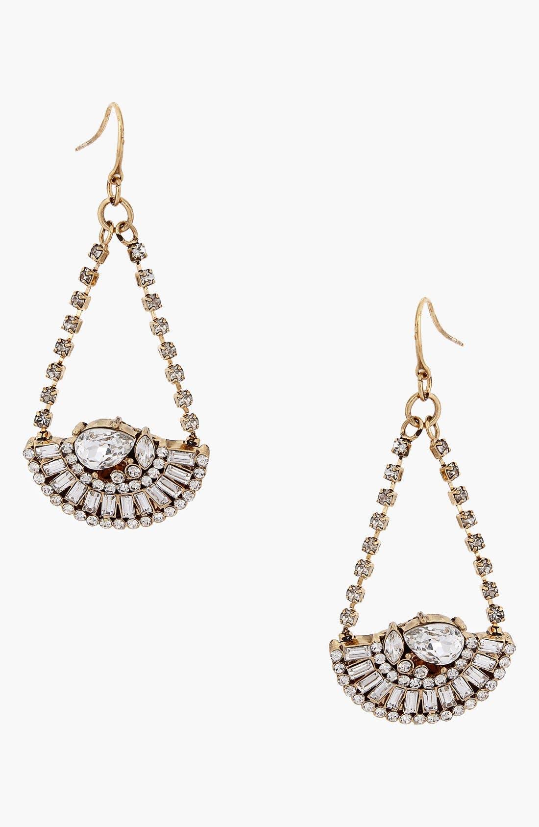 Main Image - Erickson Beamon Rocks 'Heart of Glass' Drop Earrings
