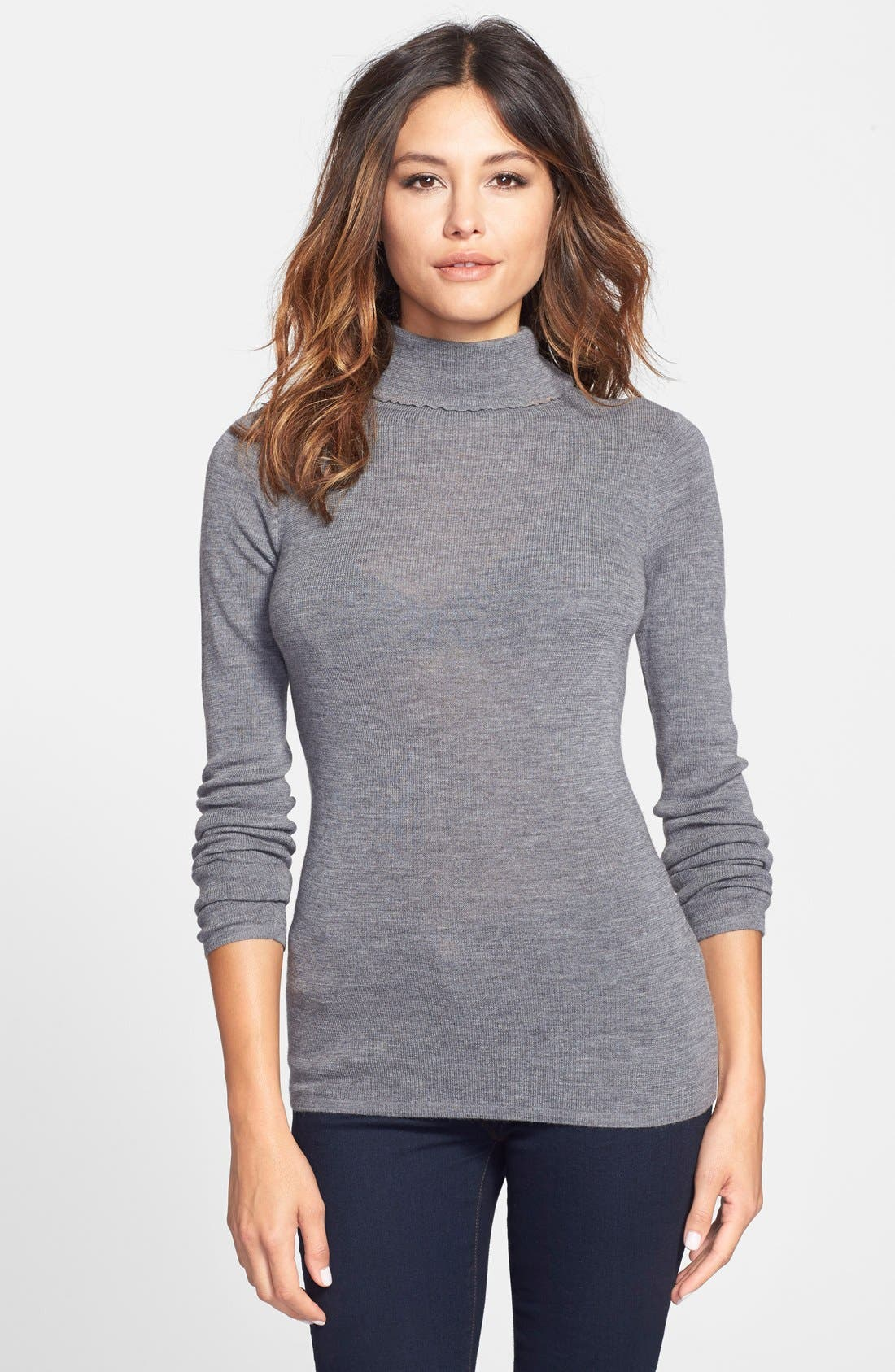 Main Image - Eileen Fisher The Fisher Project Ultrafine Merino Turtleneck Sweater
