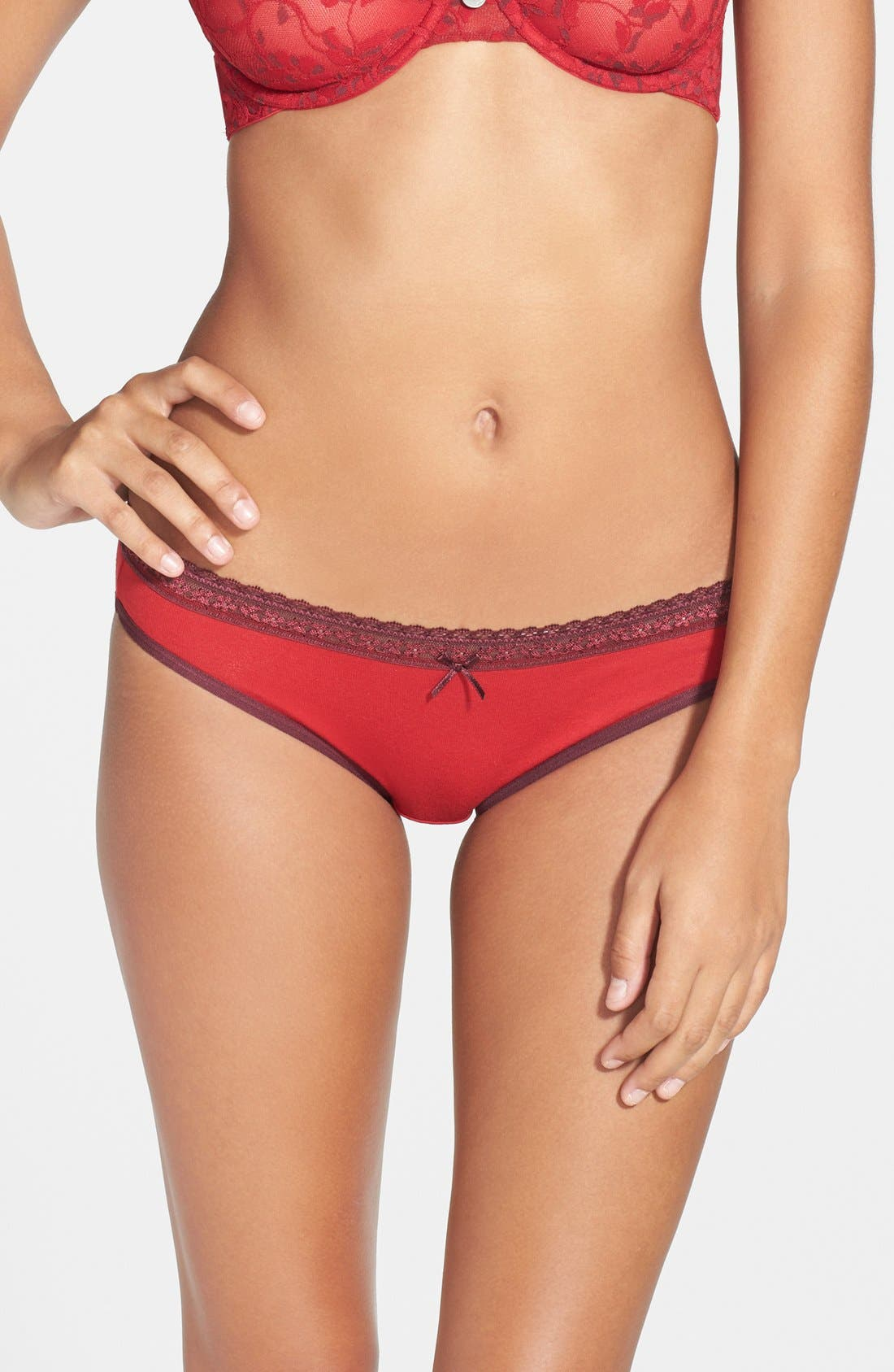 Alternate Image 1 Selected - DKNY 'Delicate Essentials' Bikini (3 for $30)