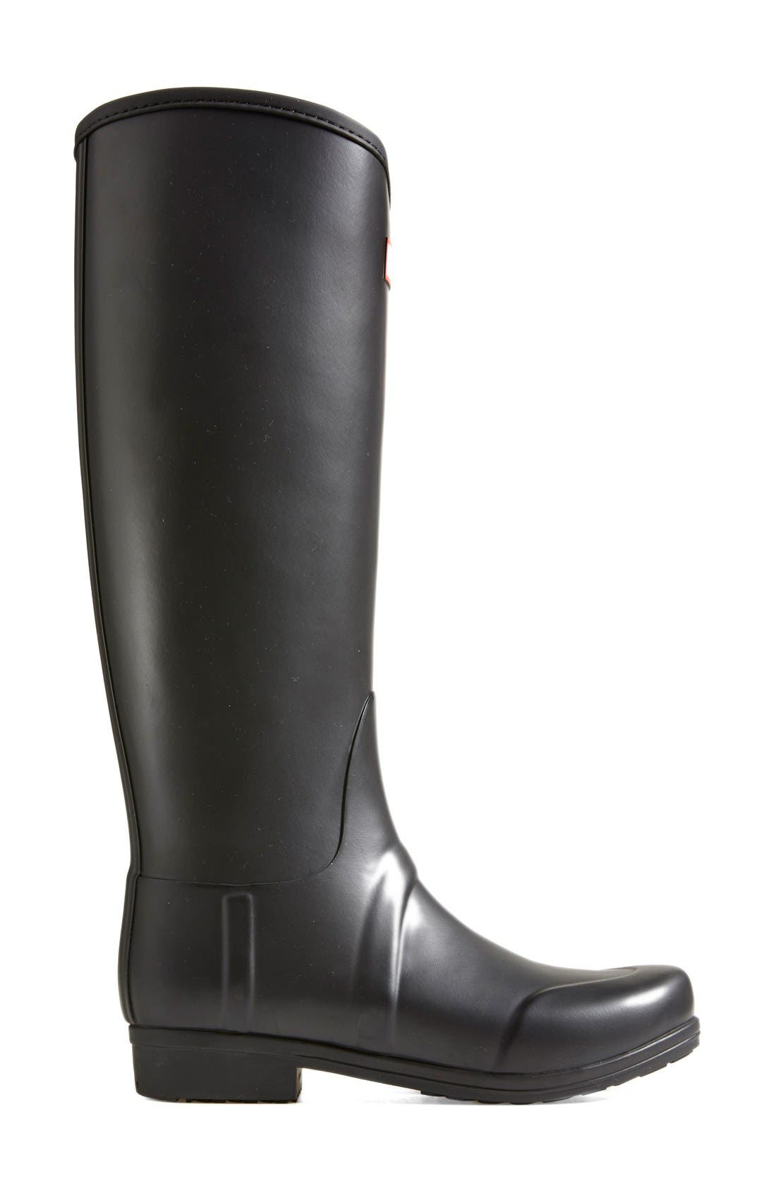 Alternate Image 7  - Hunter 'Sandhurst' Tall Rain Boot (Women)