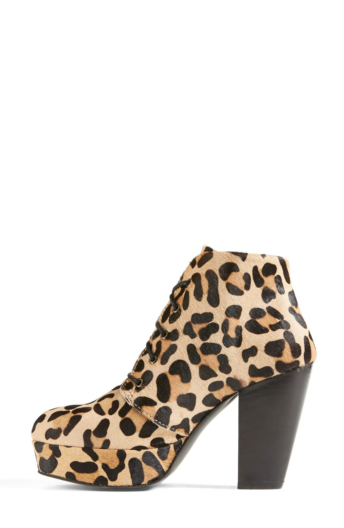 Alternate Image 6  - Steve Madden 'Raspy-L' Genuine Calf Hair Bootie (Women)