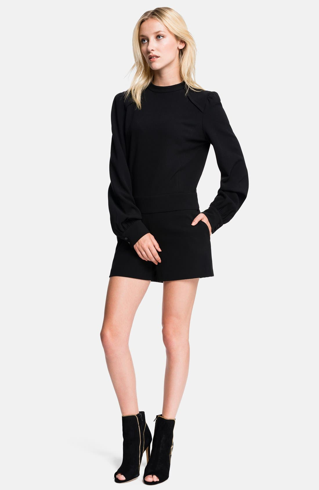 Alternate Image 1 Selected - 1.STATE Long Sleeve Romper