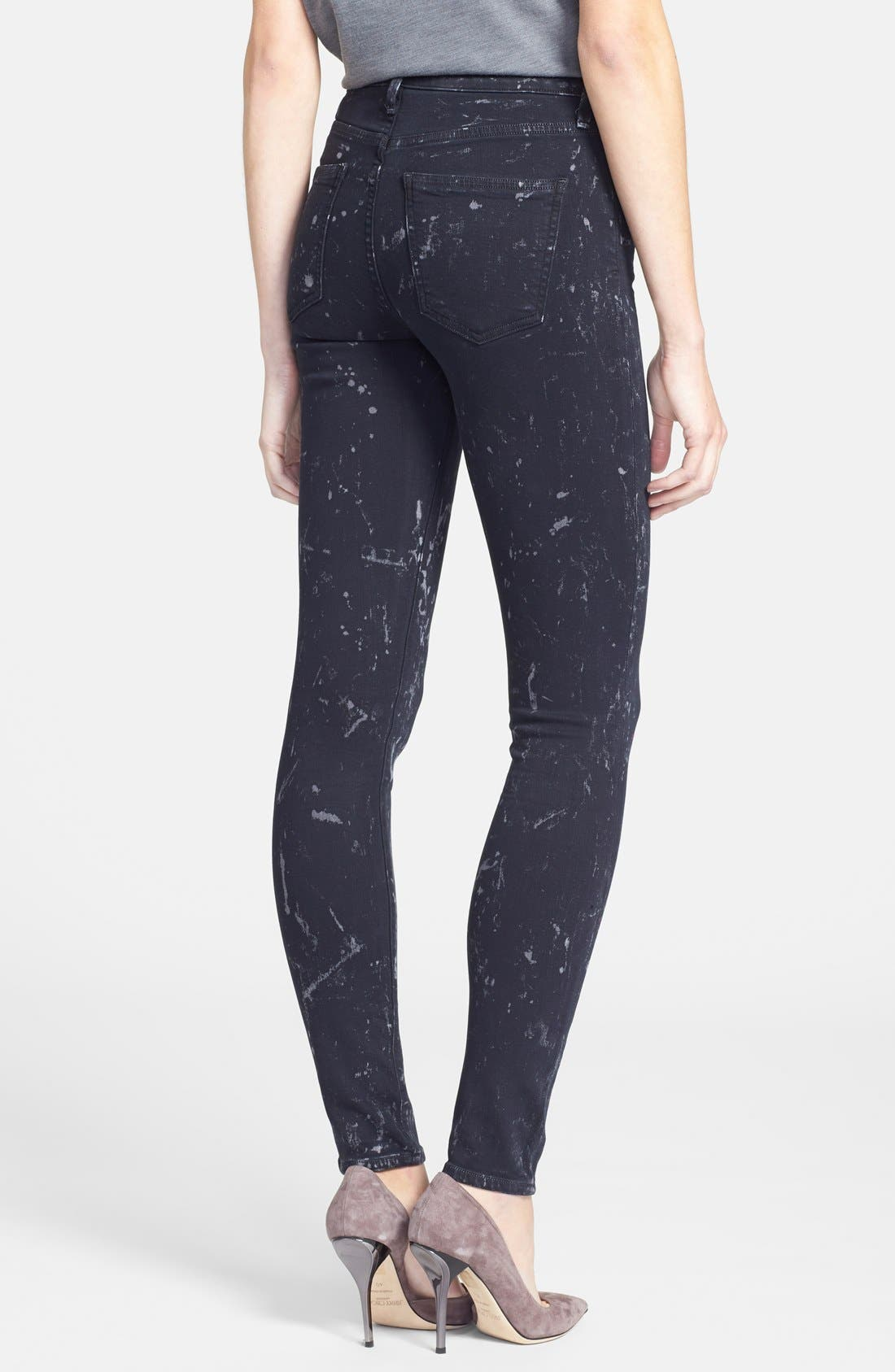 Alternate Image 2  - Citizens of Humanity 'Rocket' Skinny Jeans (Starry Black)