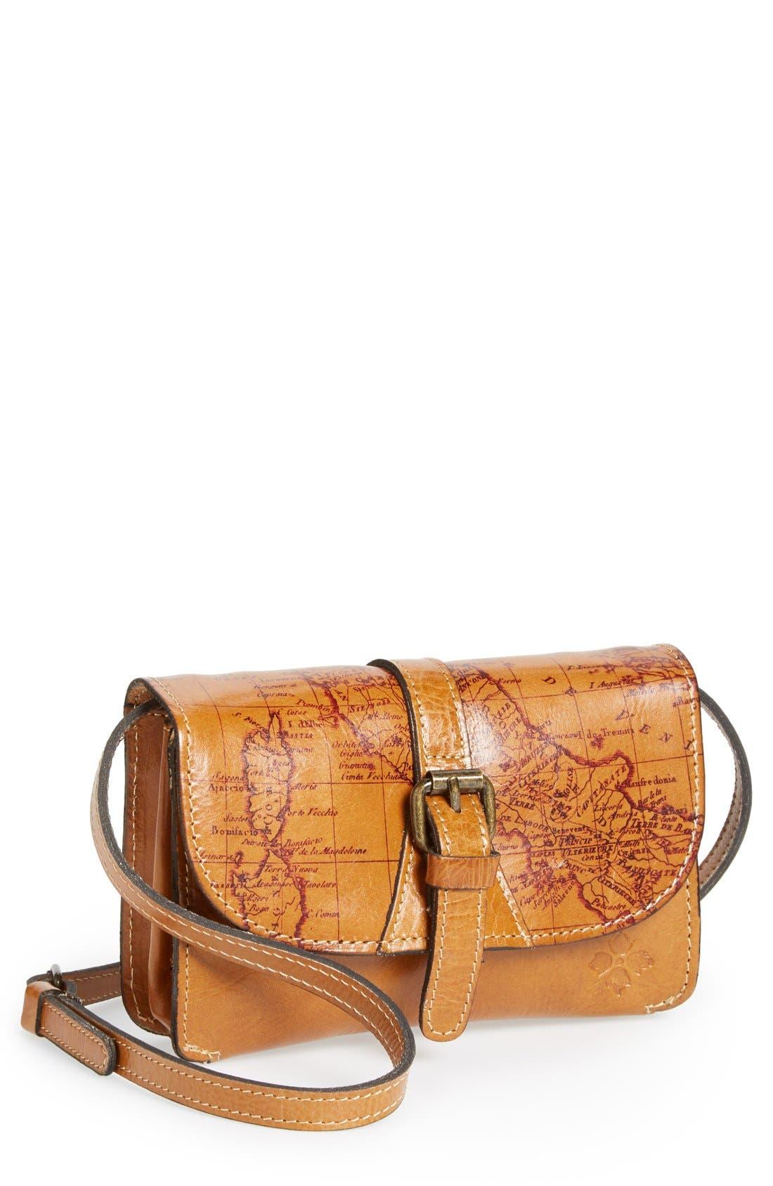 Alternate Image 1 Selected - Patricia Nash 'Torri' Leather Crossbody Bag