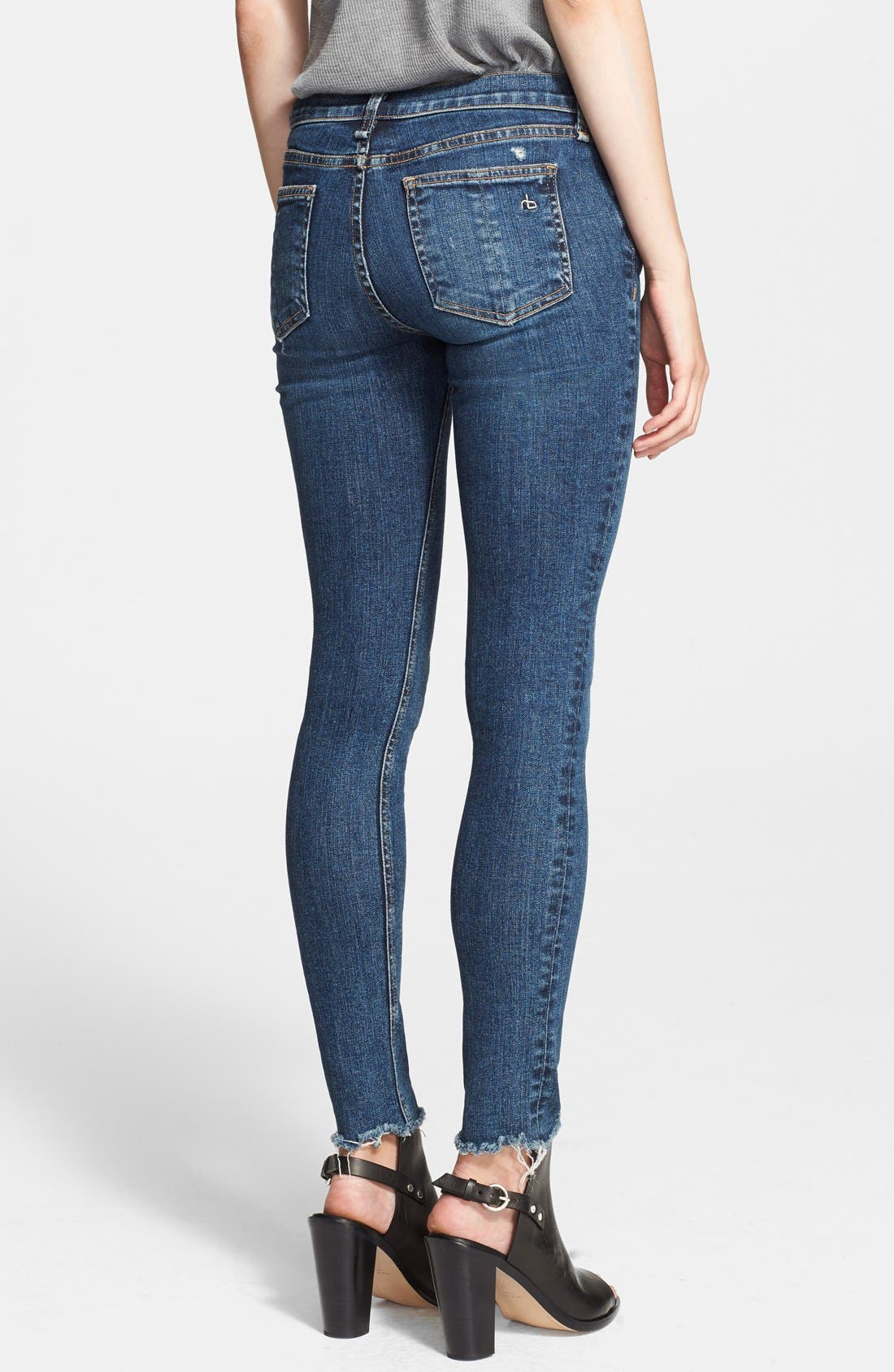'The Skinny' Stretch Jeans,                             Alternate thumbnail 2, color,                             La Paz