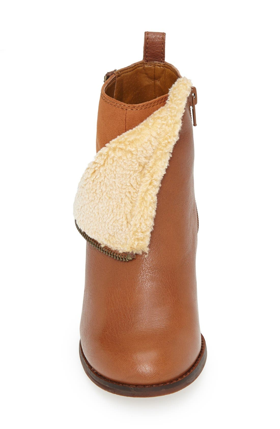 Alternate Image 3  - Lucky Brand 'Yorque' Wedge Leather Bootie (Women)