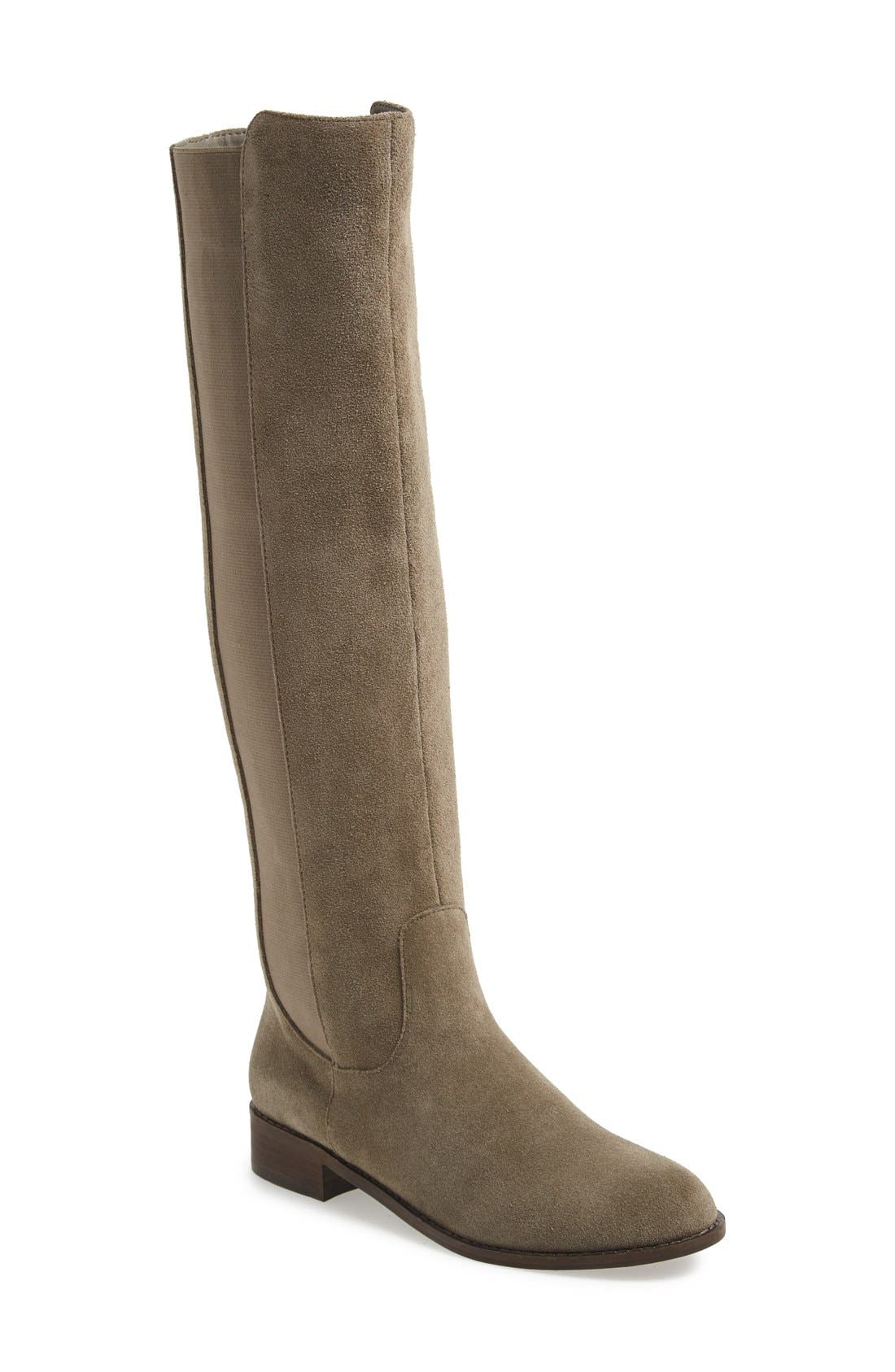 Alternate Image 1 Selected - Very Volatile 'Timber' Suede Knee High Boot (Women)