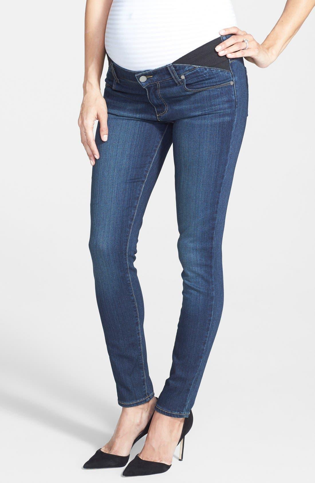 Alternate Image 1 Selected - Paige Denim 'Transcend - Verdugo' Maternity Jeans (Nottingham)