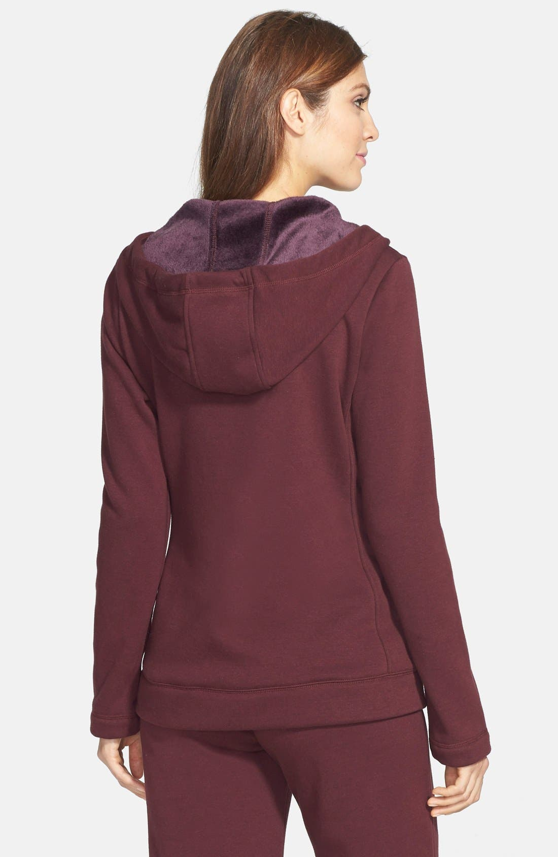 Alternate Image 2  - UGG® Australia 'Benson' Double Knit Hoodie