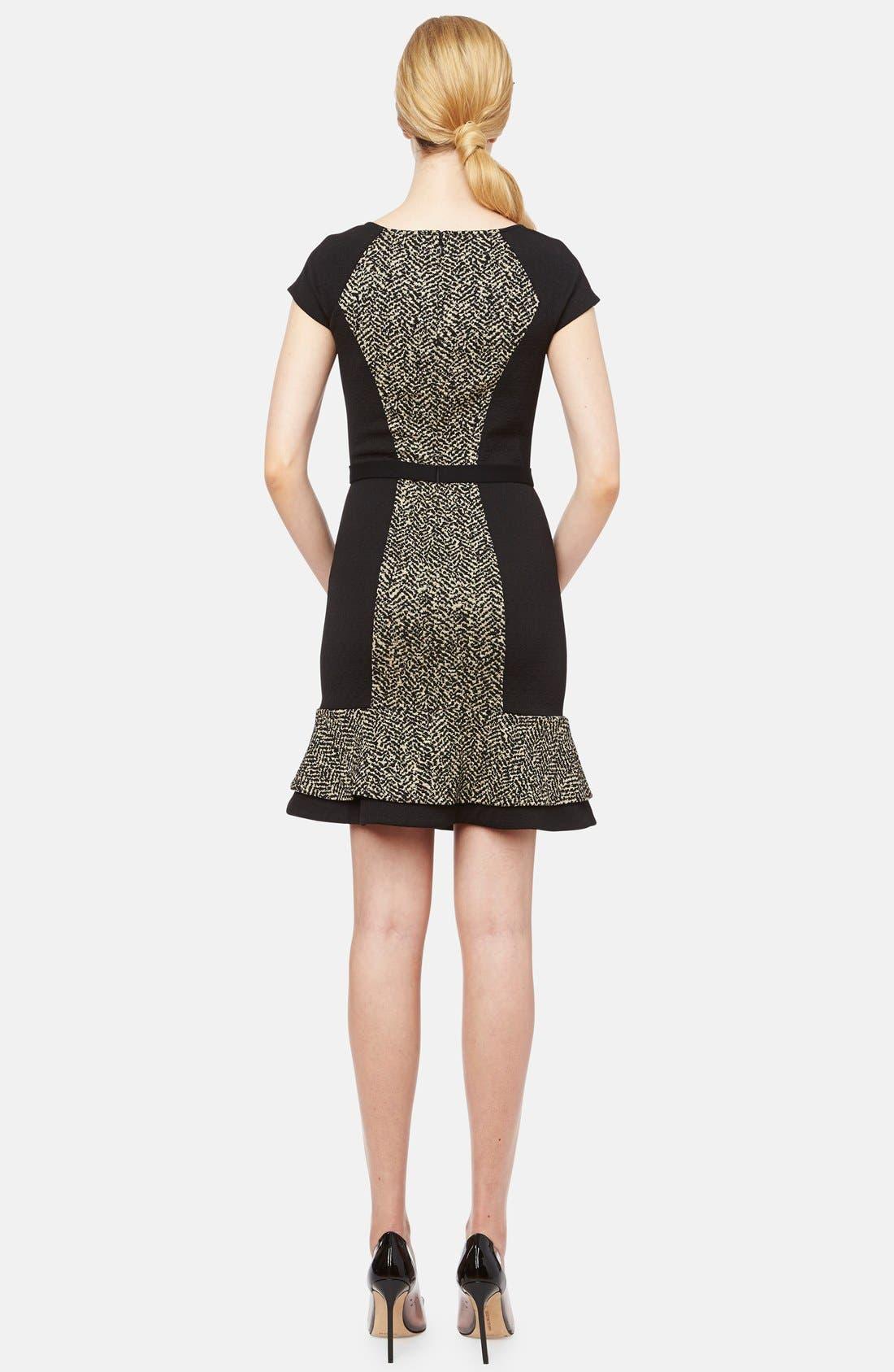 Alternate Image 2  - ERIN erin fetherston 'Liza' Belted Jacquard Fit & Flare Dress