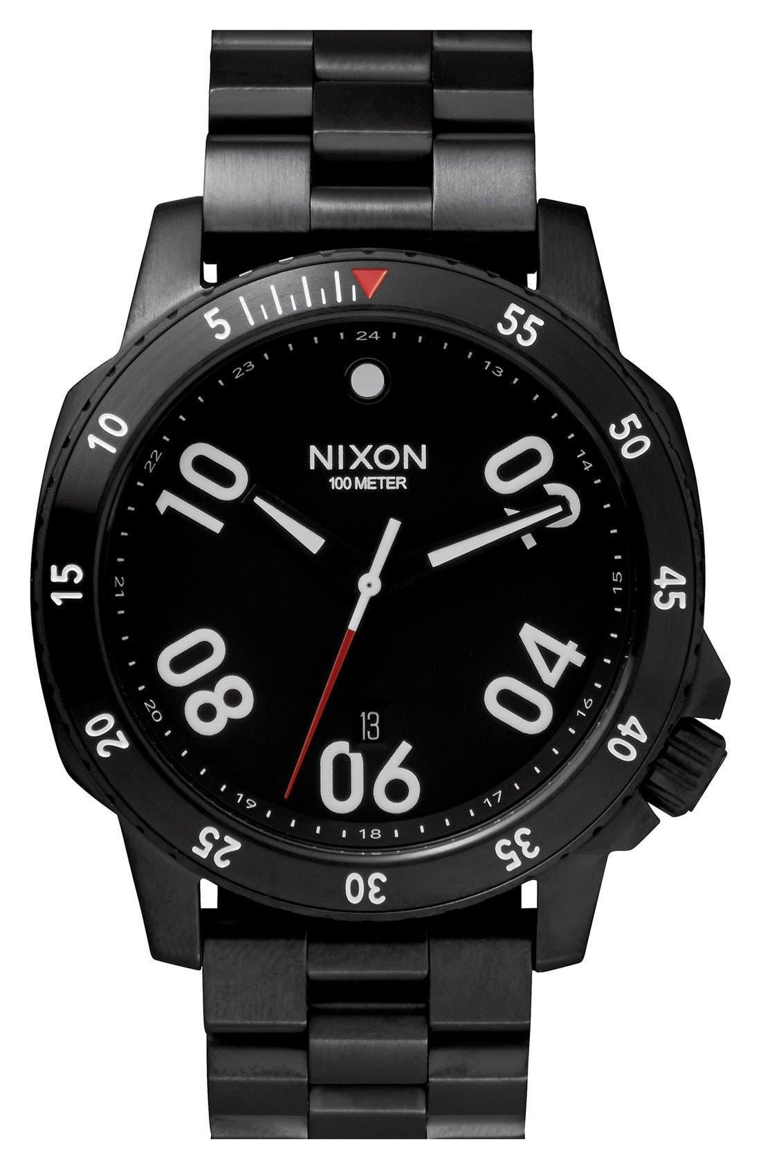 Alternate Image 1 Selected - Nixon 'The Ranger' Bracelet Watch, 44mm