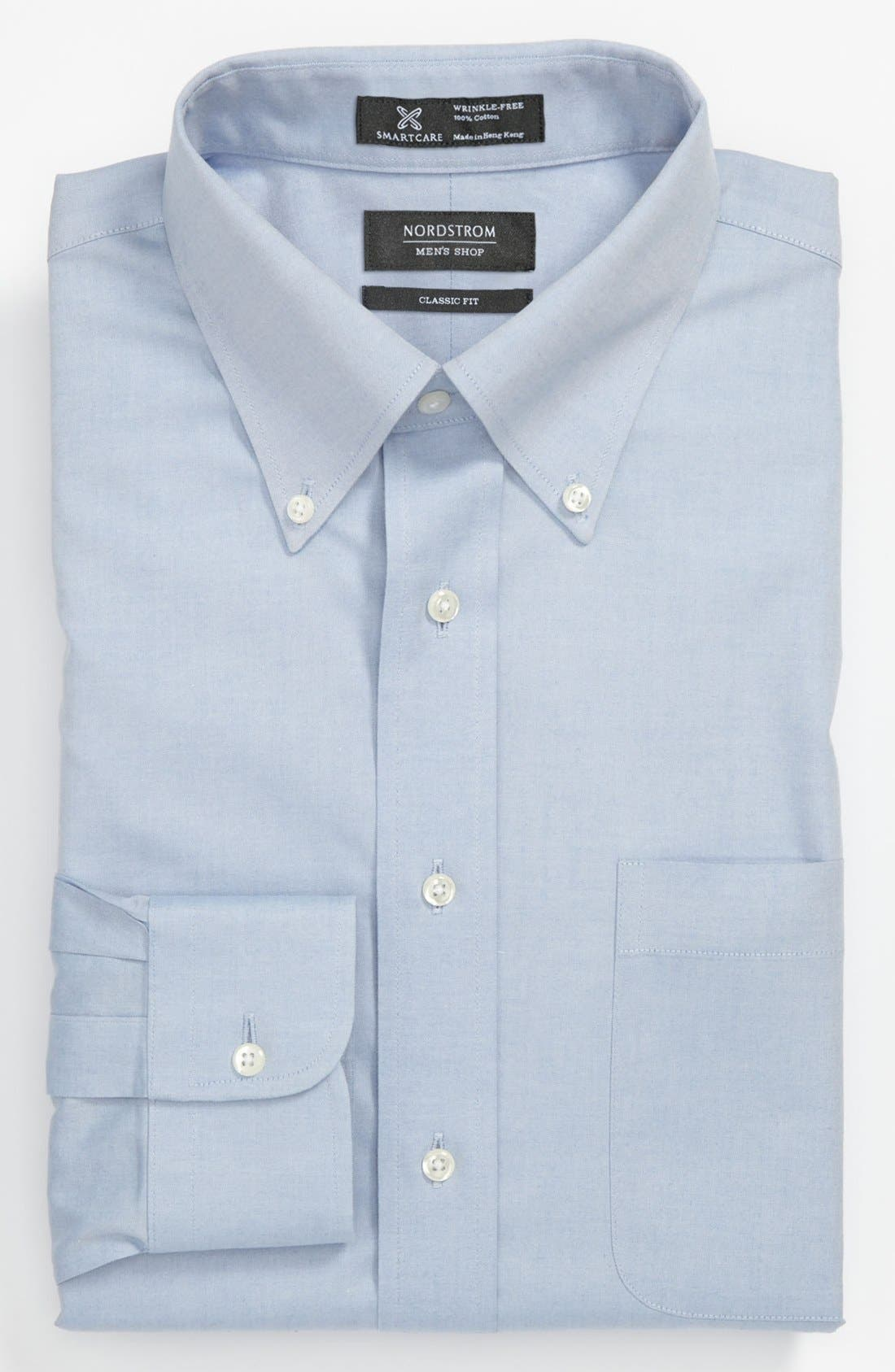 Nordstrom Men's Shop Smartcare™ Classic Fit Pinpoint Dress Shirt (Online Only)