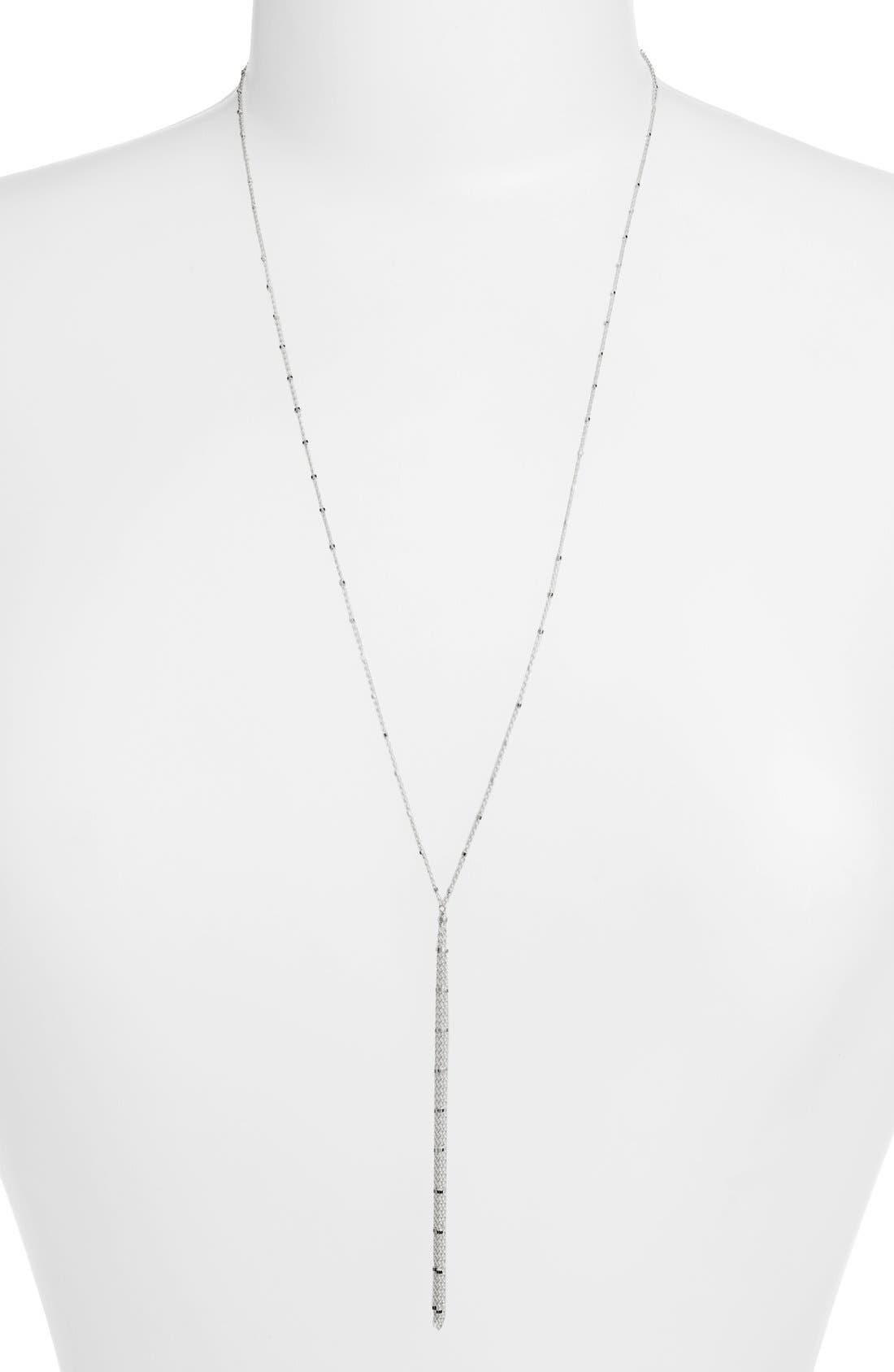 Alternate Image 2  - Dogeared '100 Good Wishes' Boxed Y-Necklace