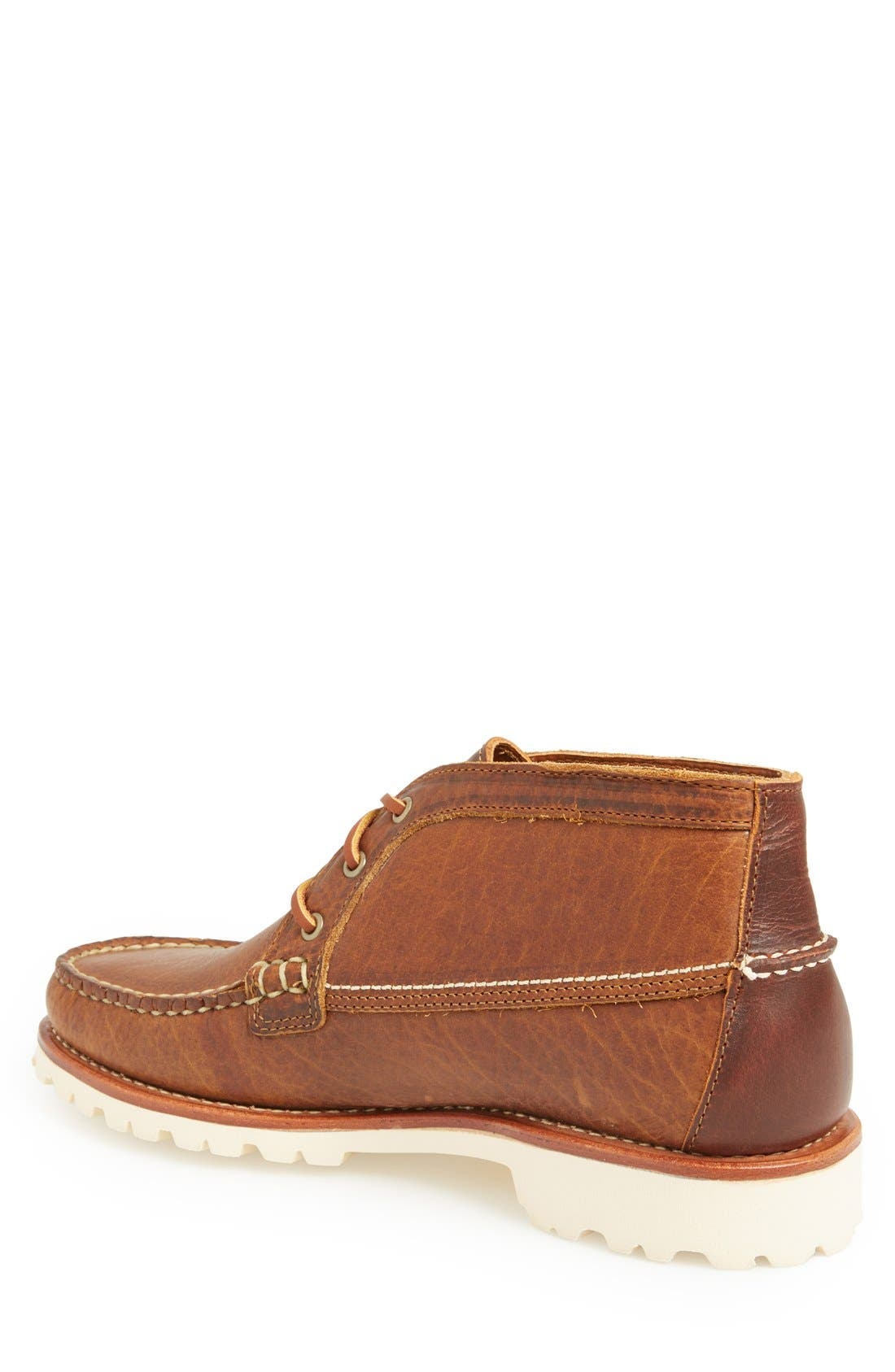 'Charlo' Moc Toe Boot,                             Alternate thumbnail 2, color,                             Whiskey