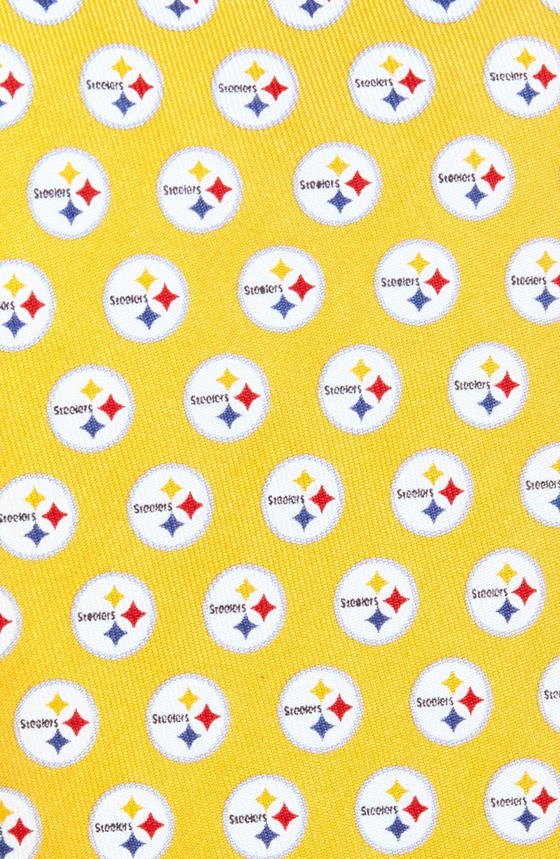 Alternate Image 2  - Vineyard Vines 'Pittsburgh Steelers - NFL' Woven Silk Tie