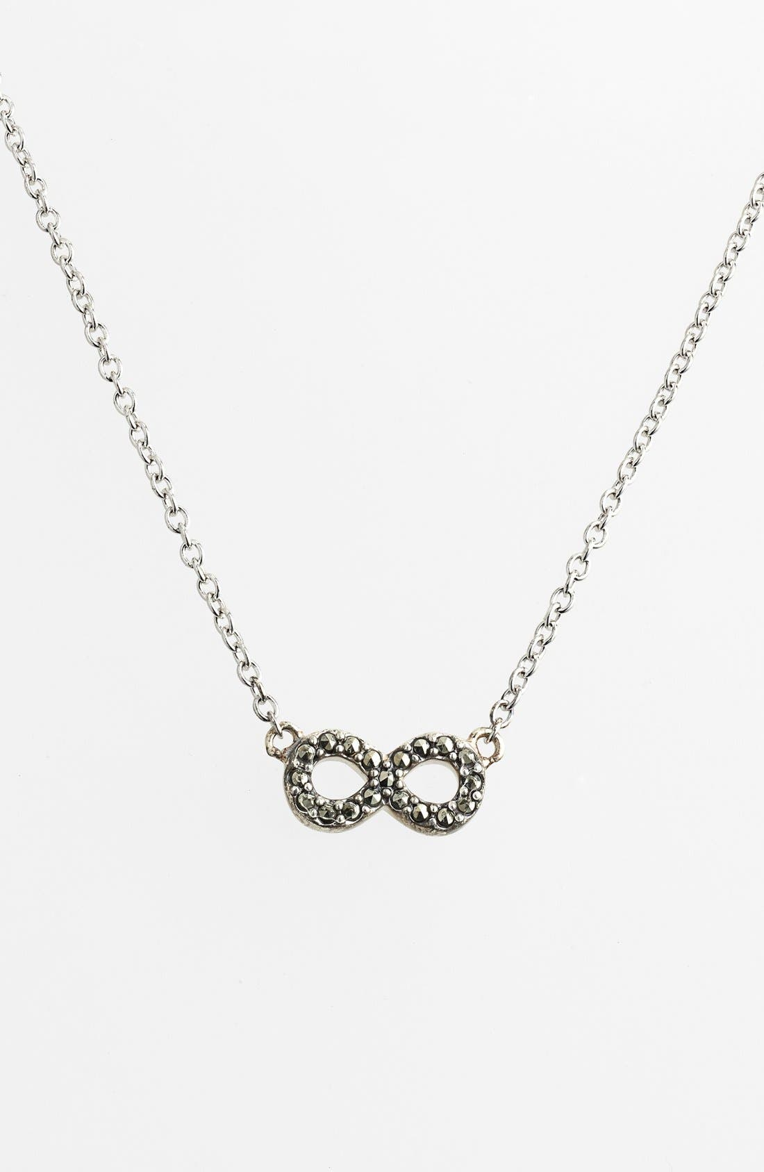 Alternate Image 3  - Judith Jack 'Mini Motives' Reversible Infinity Symbol Pendant Necklace