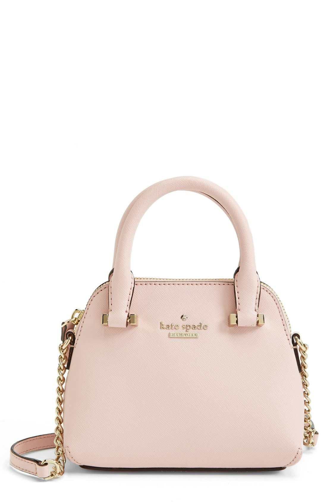 'cedar street - mini maise' crossbody bag,                             Main thumbnail 1, color,                             Rosy Dawn