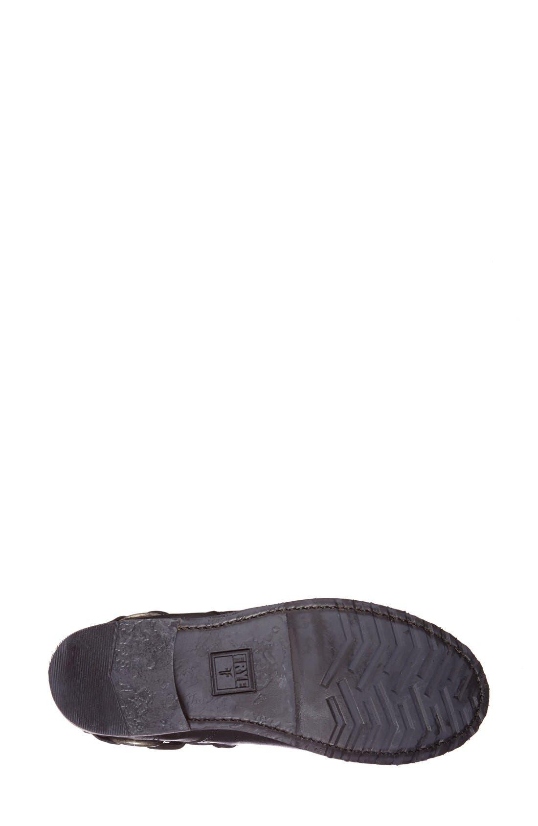 Alternate Image 4  - Frye 'Veronica' Crisscross Strap Short Leather Boot (Women)