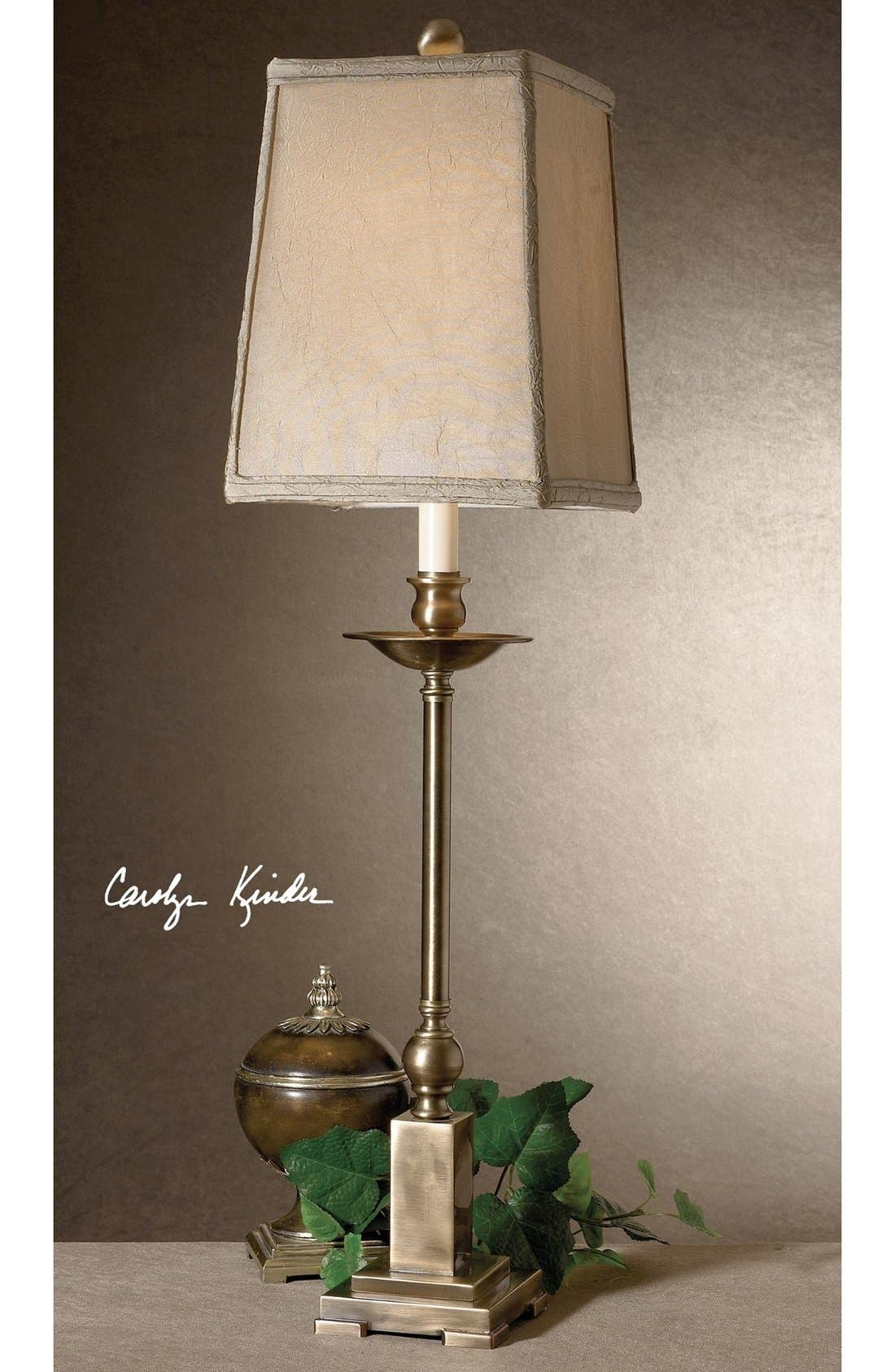 Alternate Image 2  - Uttermost 'Lowell' Candlestick Buffet Lamp
