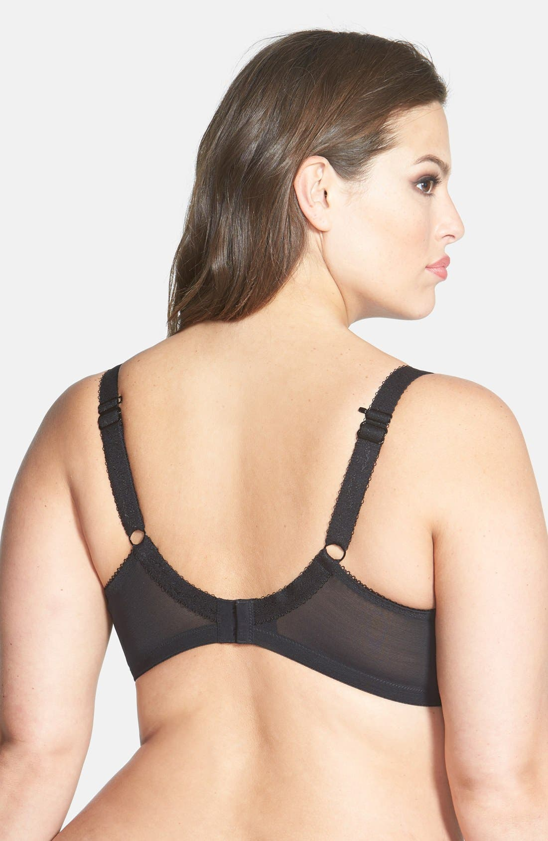 Alternate Image 2  - Elomi 'Rita' Convertible Strap Underwire Bra (Plus Size)
