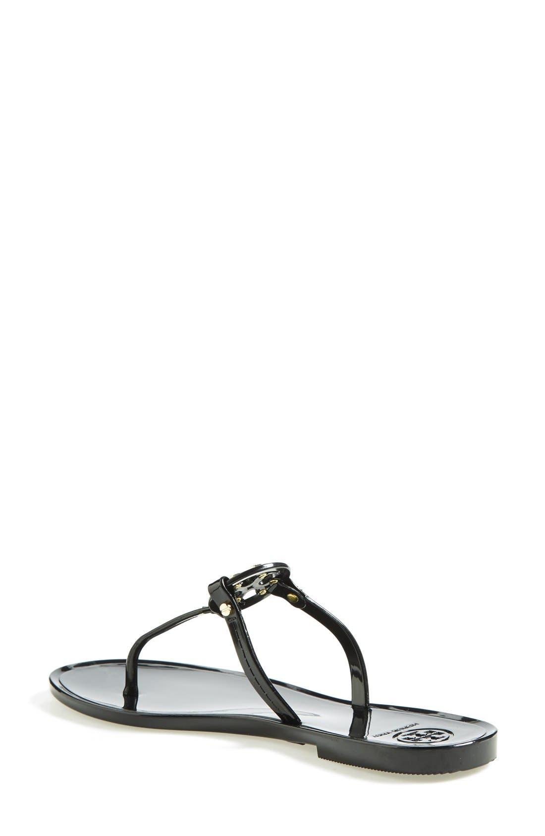 Alternate Image 2  - Tory Burch 'Mini Miller' Flat Sandal (Women)
