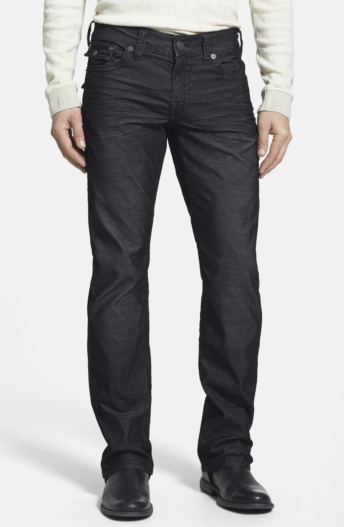 True Religion Brand Jeans 'Ricky' Relaxed Straight Leg Corduroy Pants