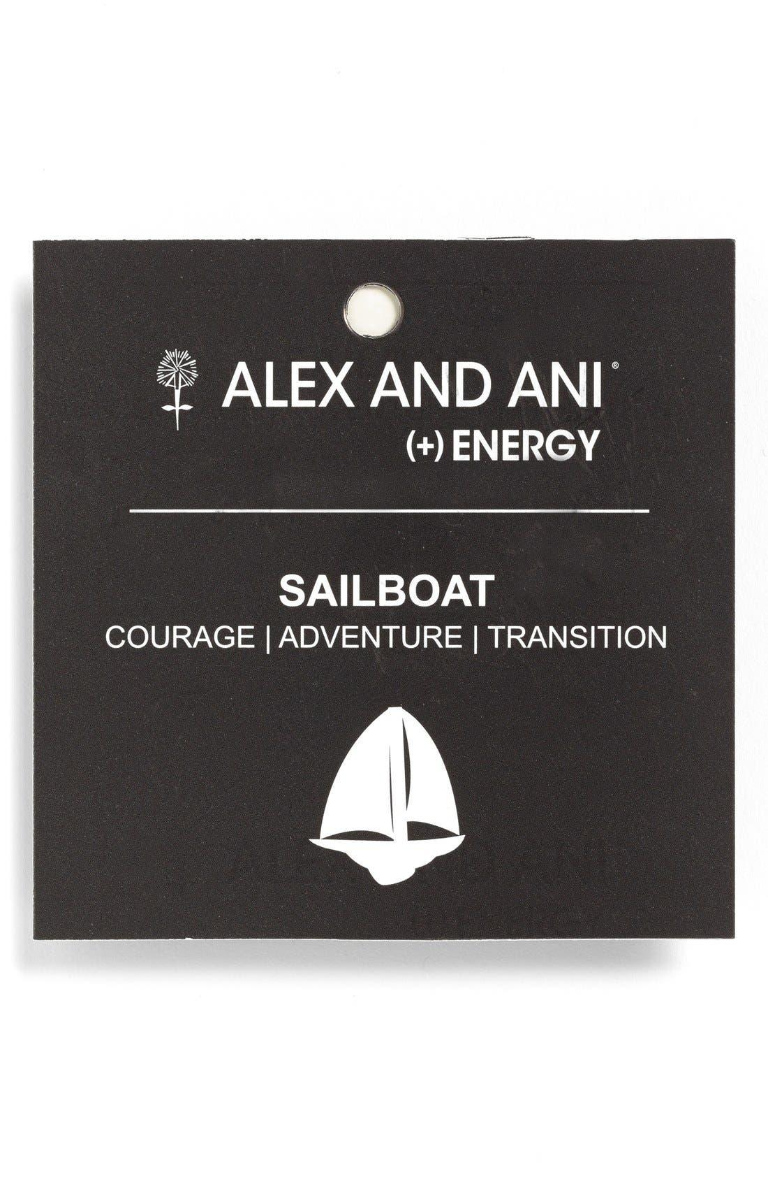 Alternate Image 2  - Alex and Ani Sailboat Expandable Wire Bangle