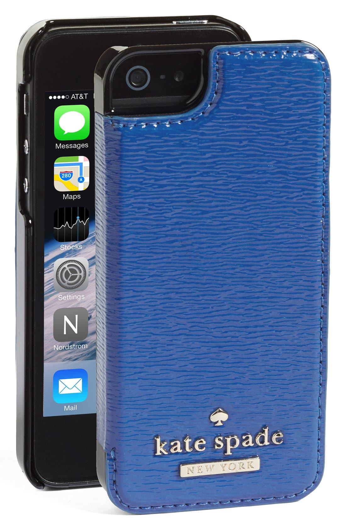 Alternate Image 1 Selected - kate spade new york 'cedar street' iPhone 5 & 5s case