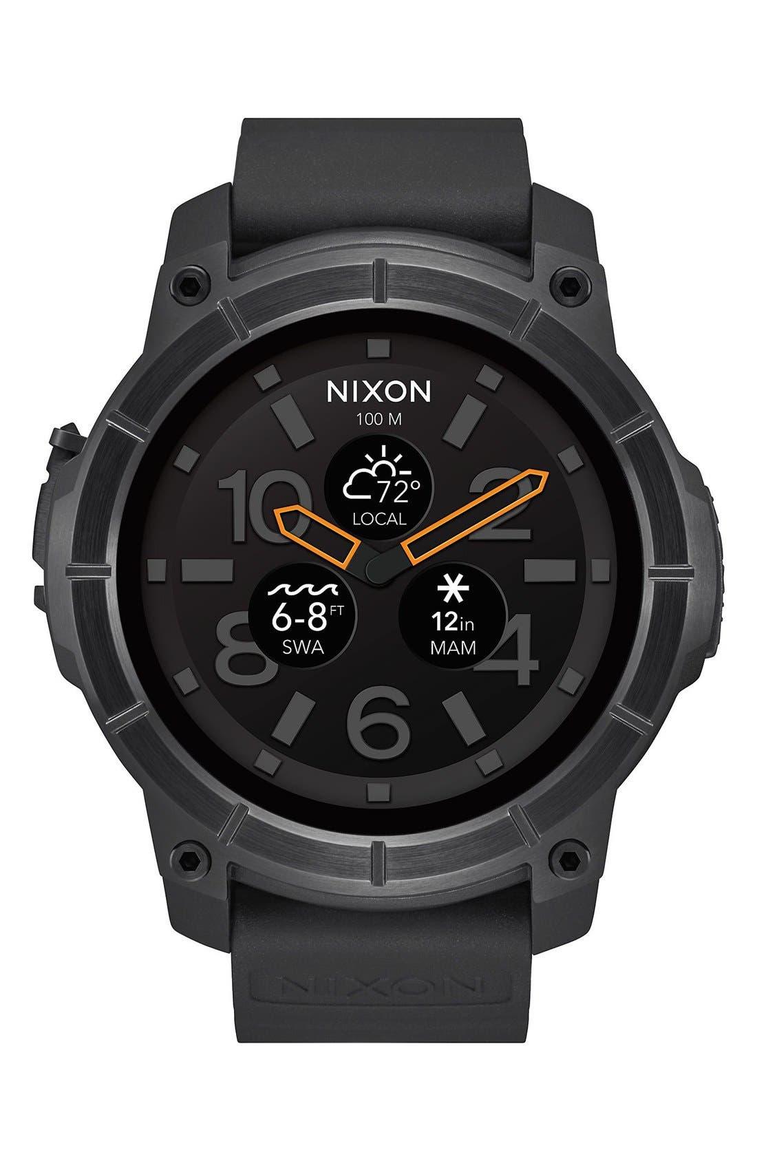 Alternate Image 1 Selected - Nixon Mission Ana-Digi Smart Watch, 48mm