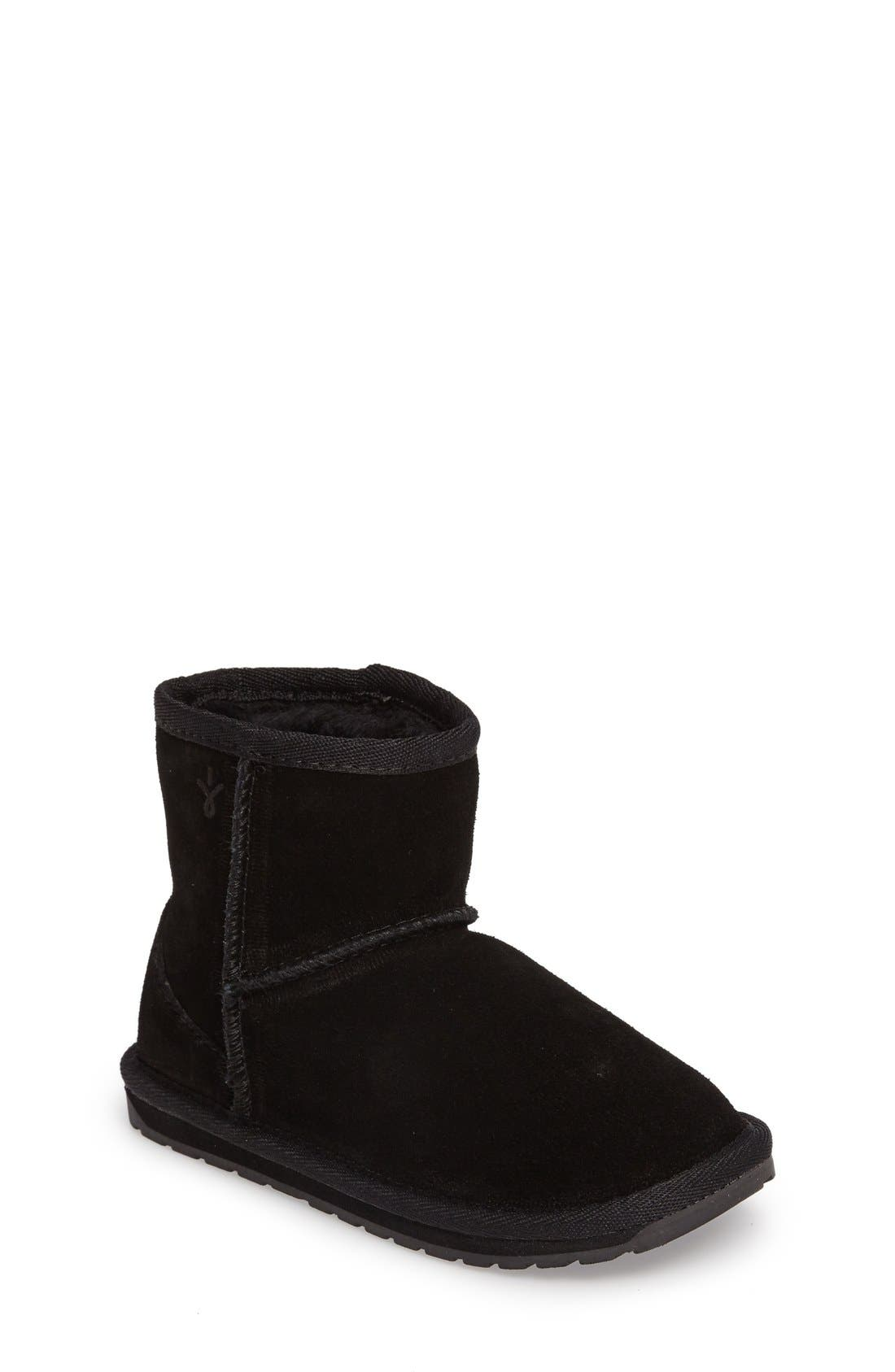 Wallaby Boot,                         Main,                         color, Black