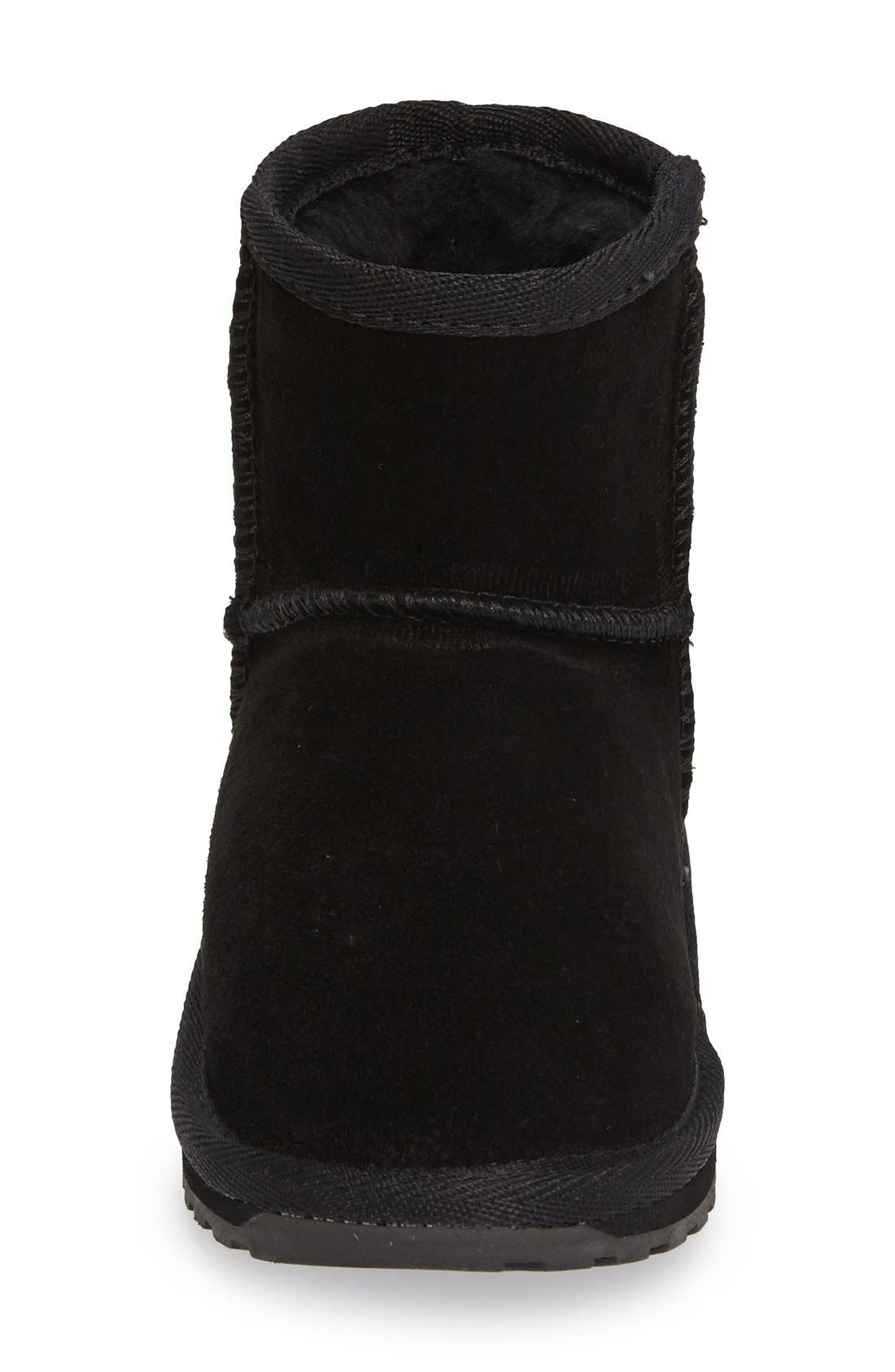 Wallaby Boot,                             Alternate thumbnail 3, color,                             Black