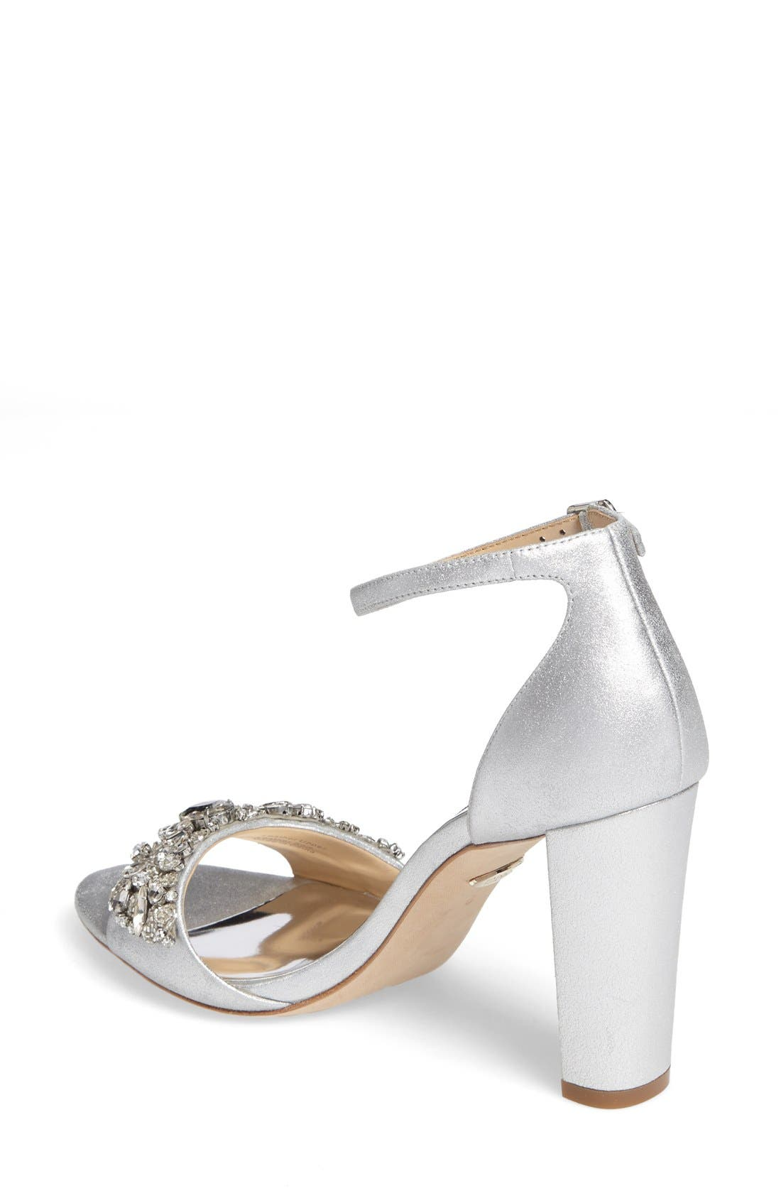 Alternate Image 2  - Badgley Mischka Barby Ankle Strap Sandal (Women)