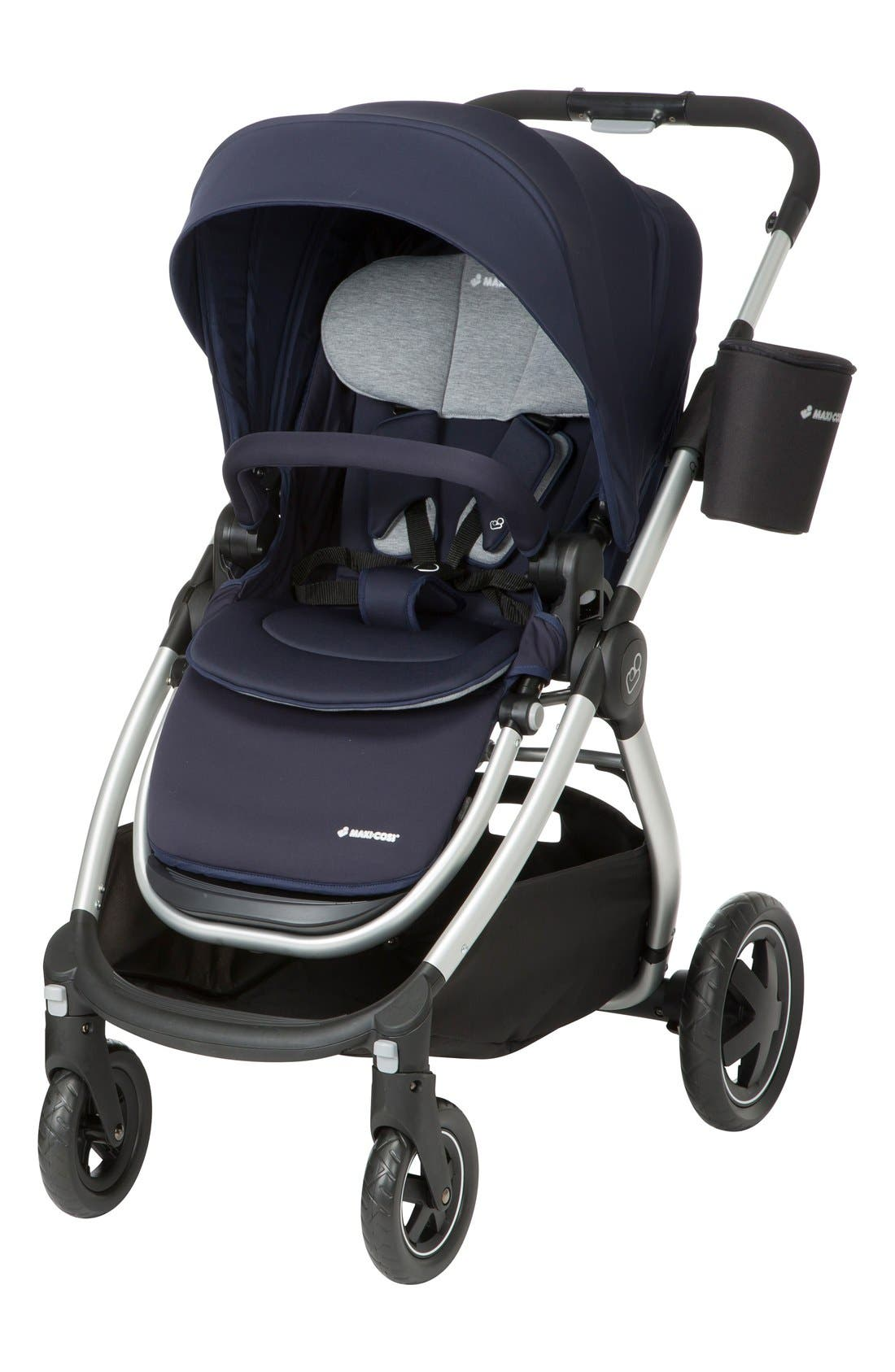 Adorra Travel System,                             Alternate thumbnail 2, color,                             Navy