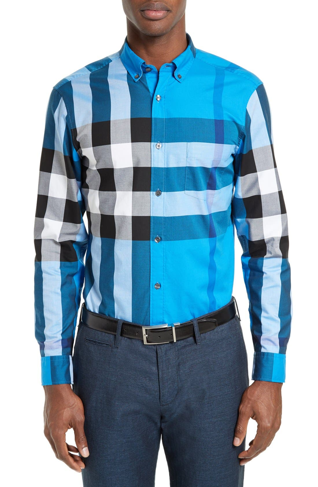 Burberry Exploded Check Sport Shirt