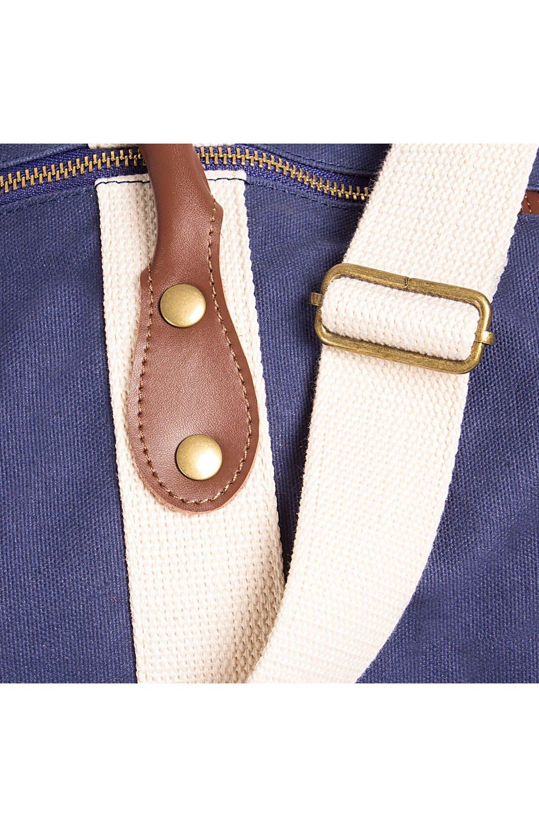 Alternate Image 6  - Cathy's Concepts Monogram Duffel Bag