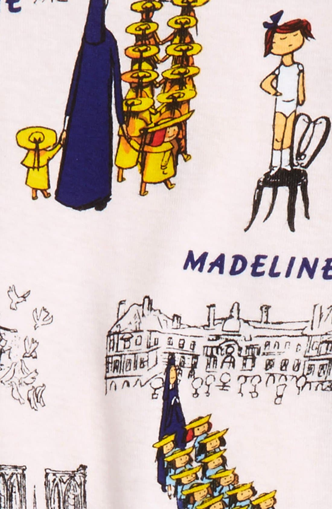 Madeline Fitted Two-Piece Pajamas & Book Set,                             Alternate thumbnail 2, color,                             Pink