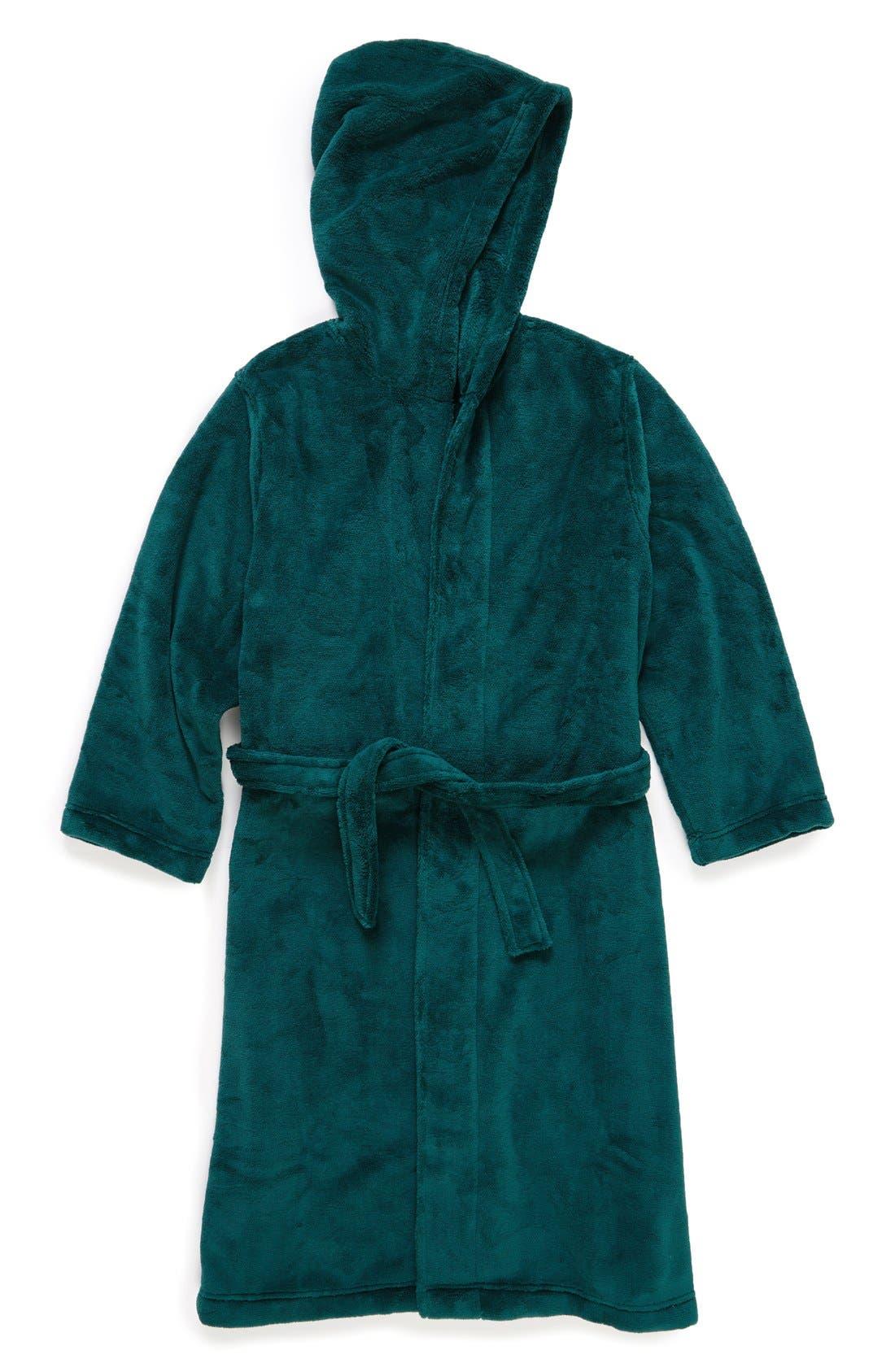 Main Image - Tucker + Tate Hooded Fleece Robe (Toddler, Little Kids & Big Kids)