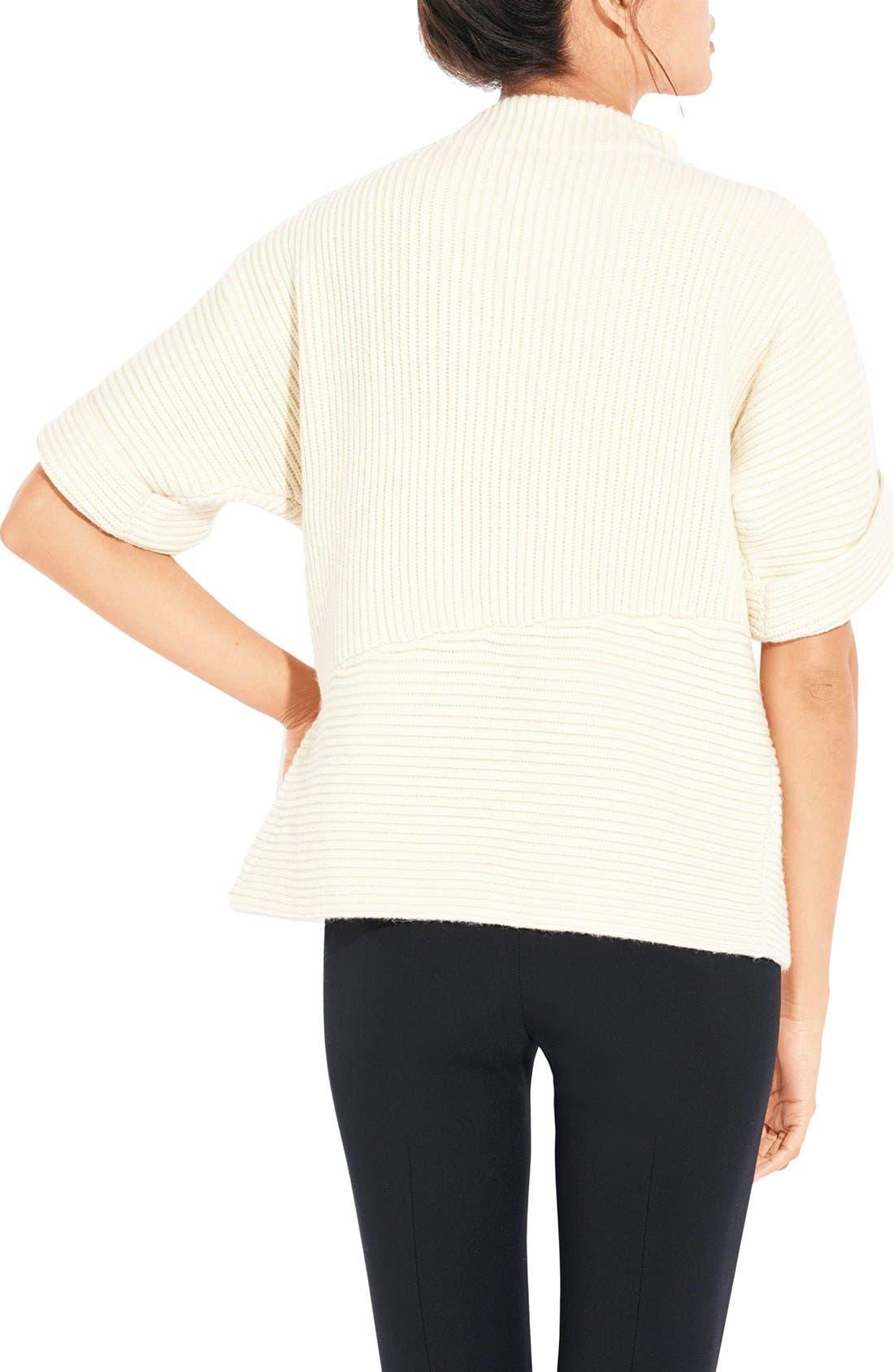 Alternate Image 2  - AYR The Fika Merino & Alpaca Rib Sweater
