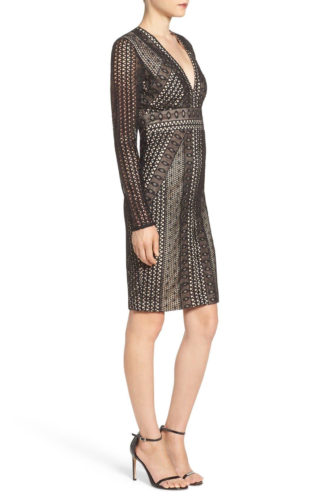 Alternate Image 3  - Bardot Allegra Lace Sheath Dress