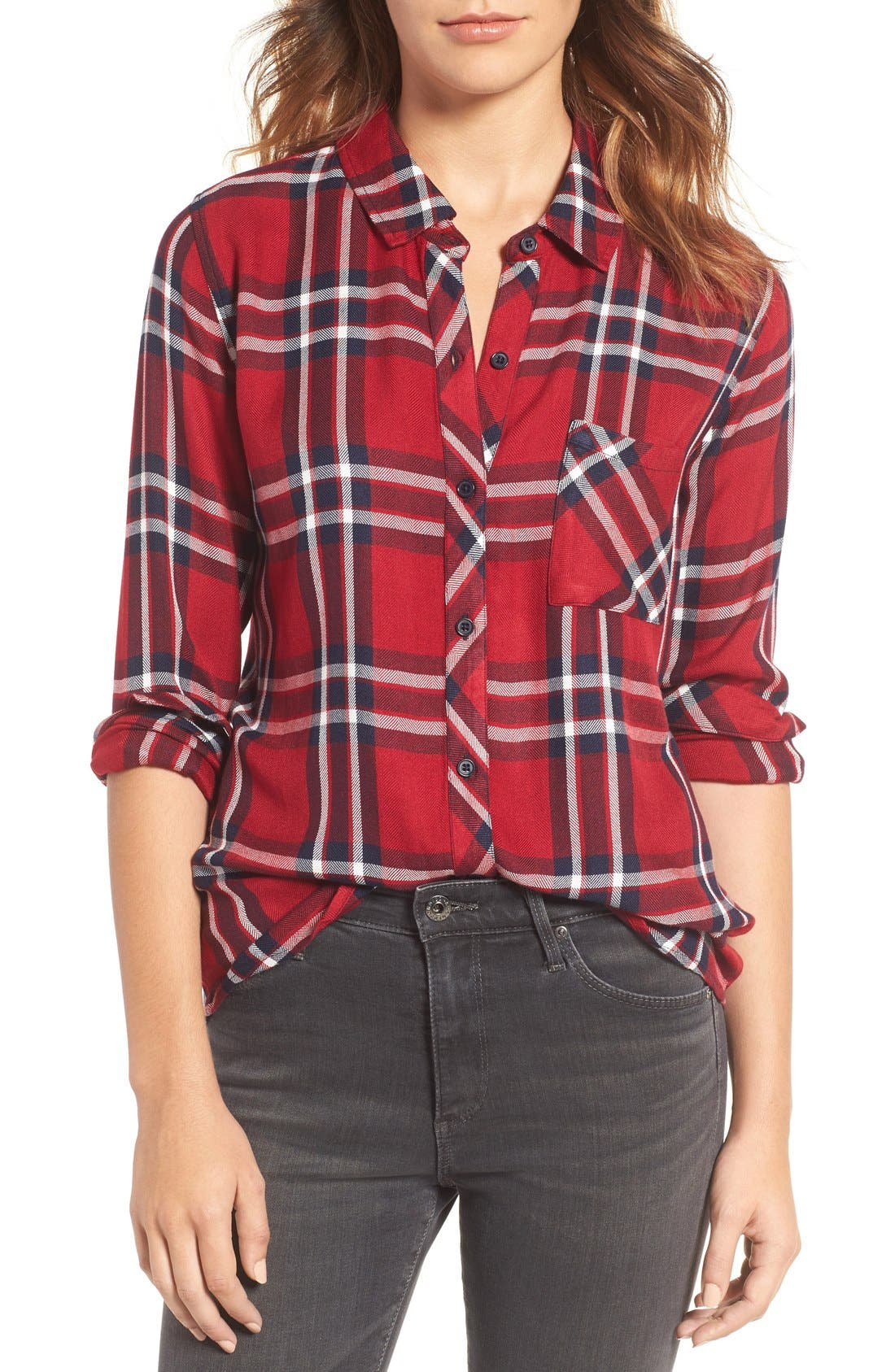 Plaid Tops