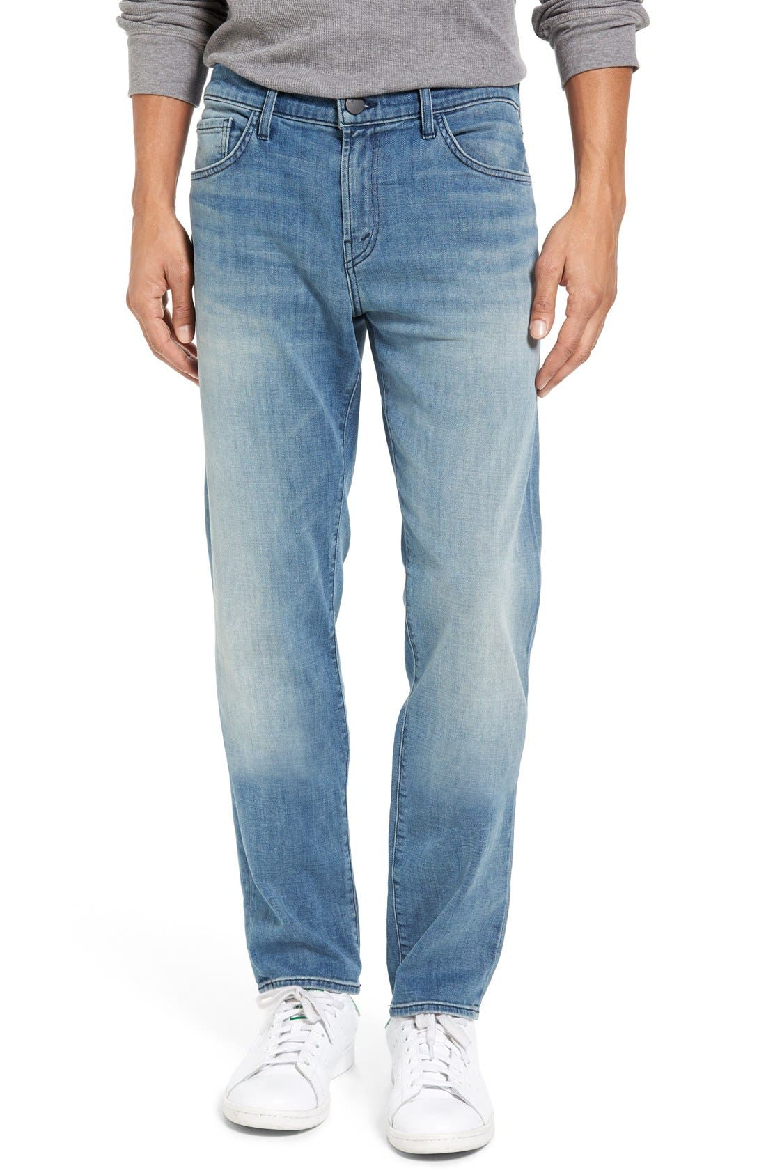 J Brand Kane Slim Straight Leg Jeans (Hubble)