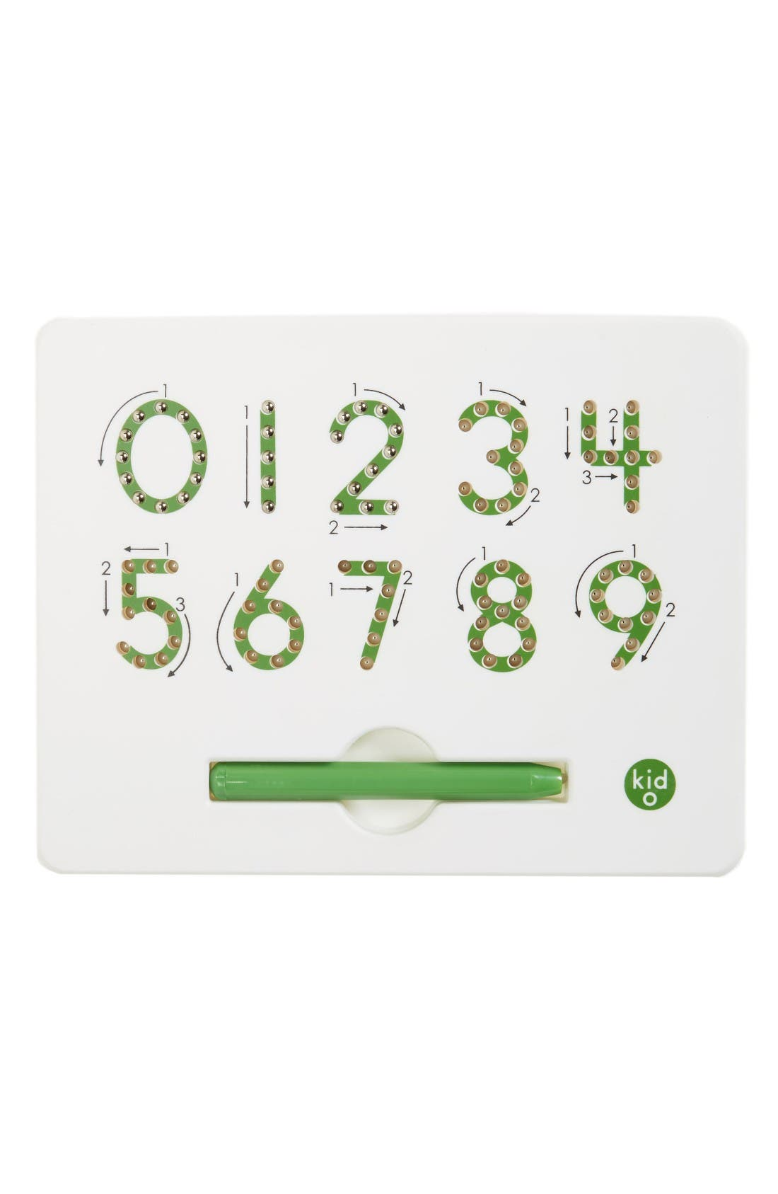 Kid O Magnetic Numbers Board