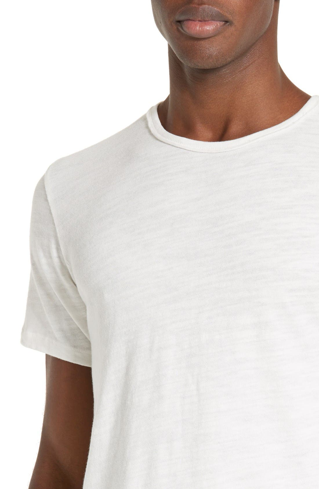Alternate Image 4  - rag & bone Standard Issue Slubbed Cotton T-Shirt