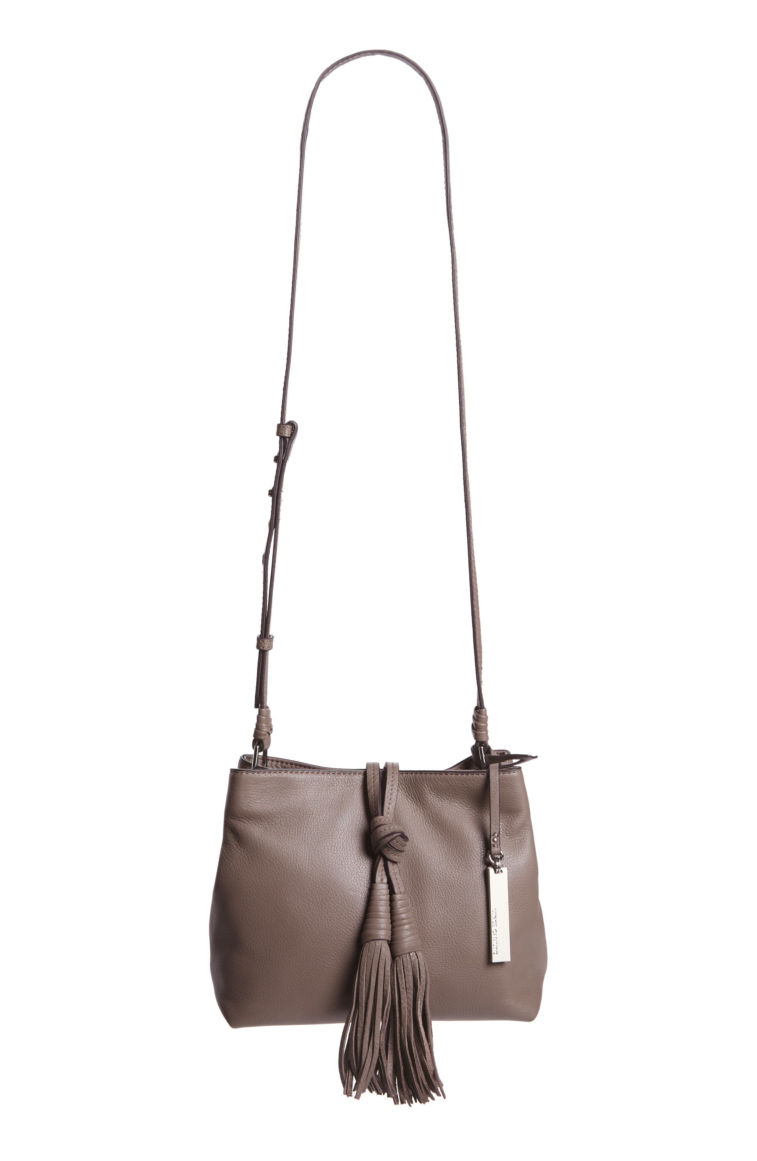 Alternate Image 1 Selected - Vince Camuto Taro Leather Crossbody Bag