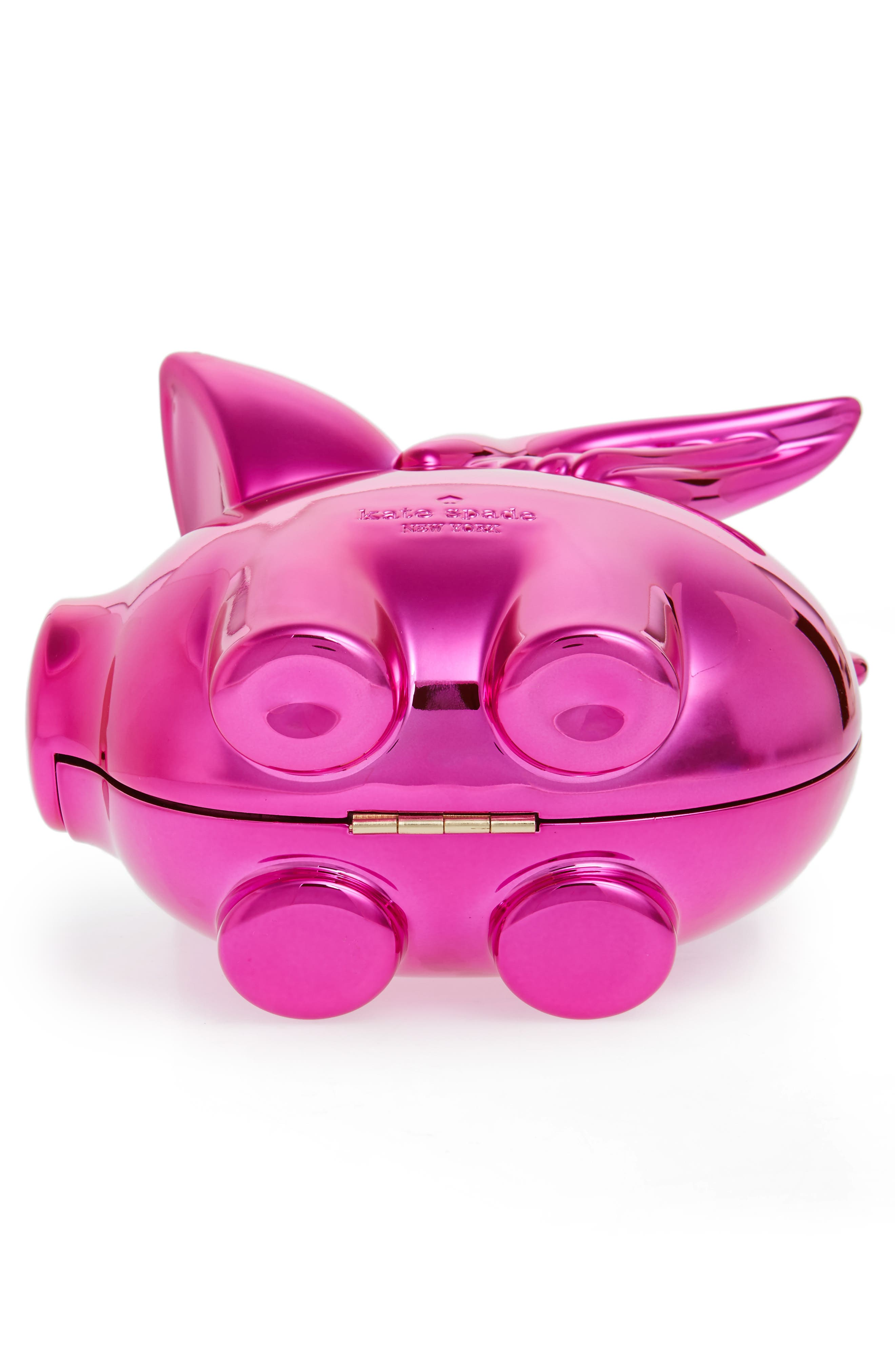 Alternate Image 5  - kate spade new york when pigs fly frame clutch