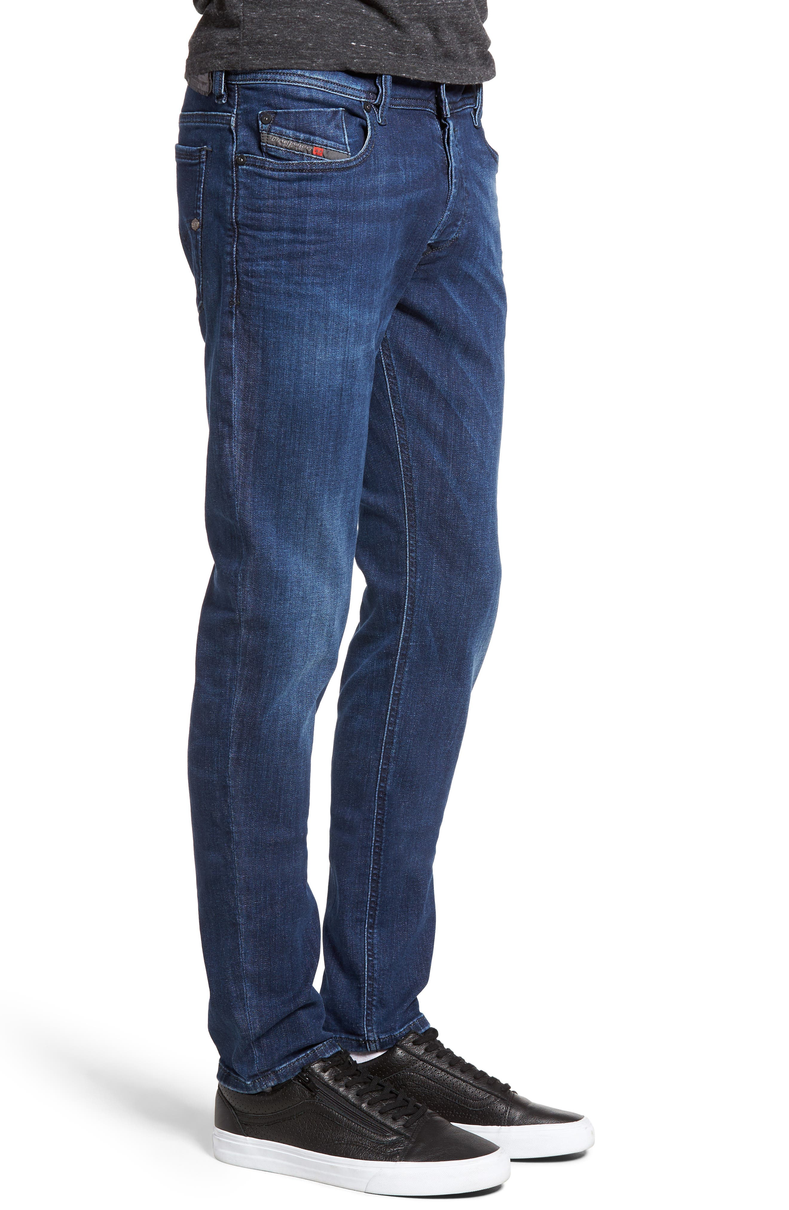 Alternate Image 3  - DIESEL® Sleenker Skinny Fit Jeans (0679K)