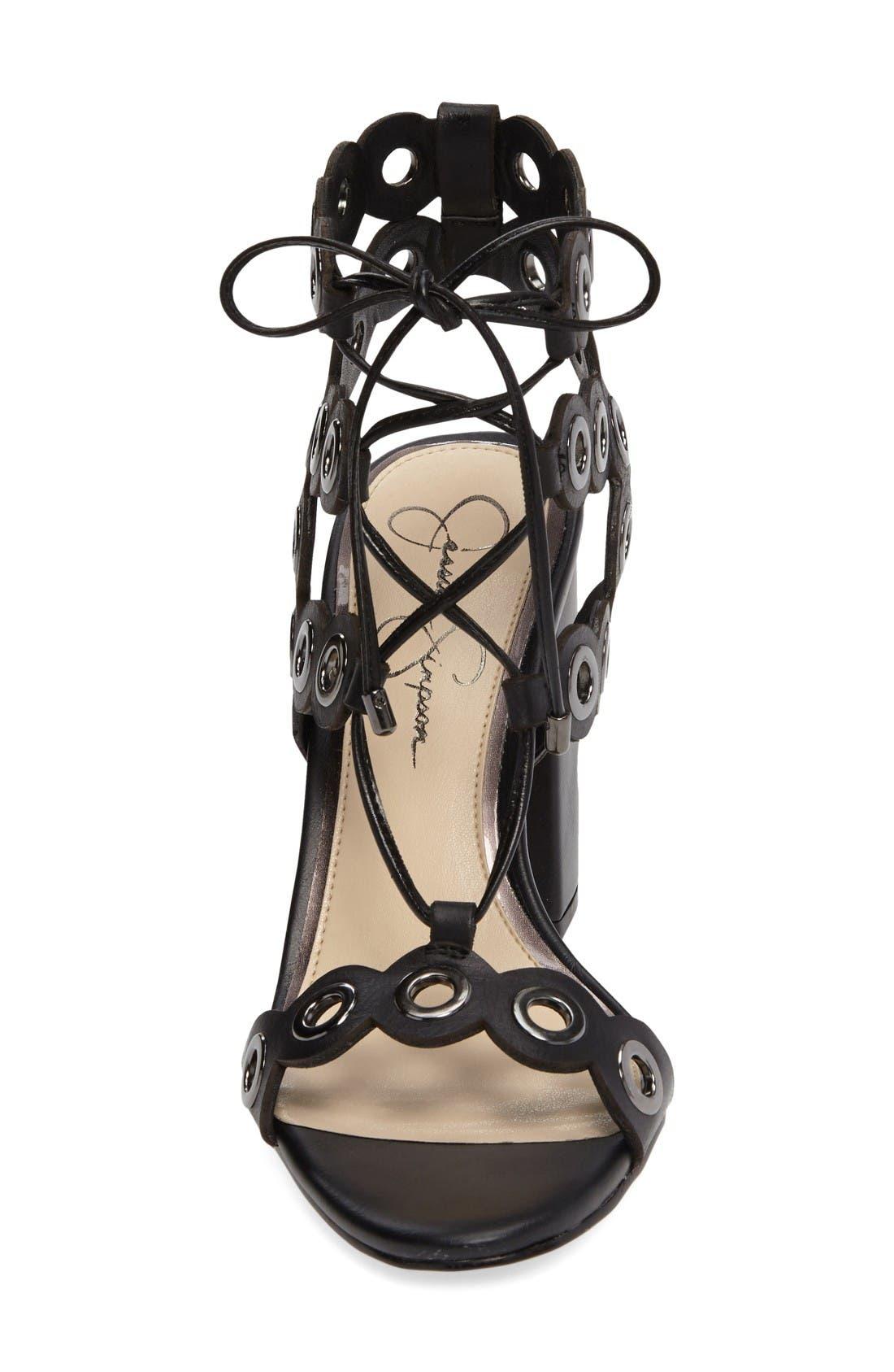 Alternate Image 3  - Jessica Simpson Kariss Lace-Up Sandal (Women)